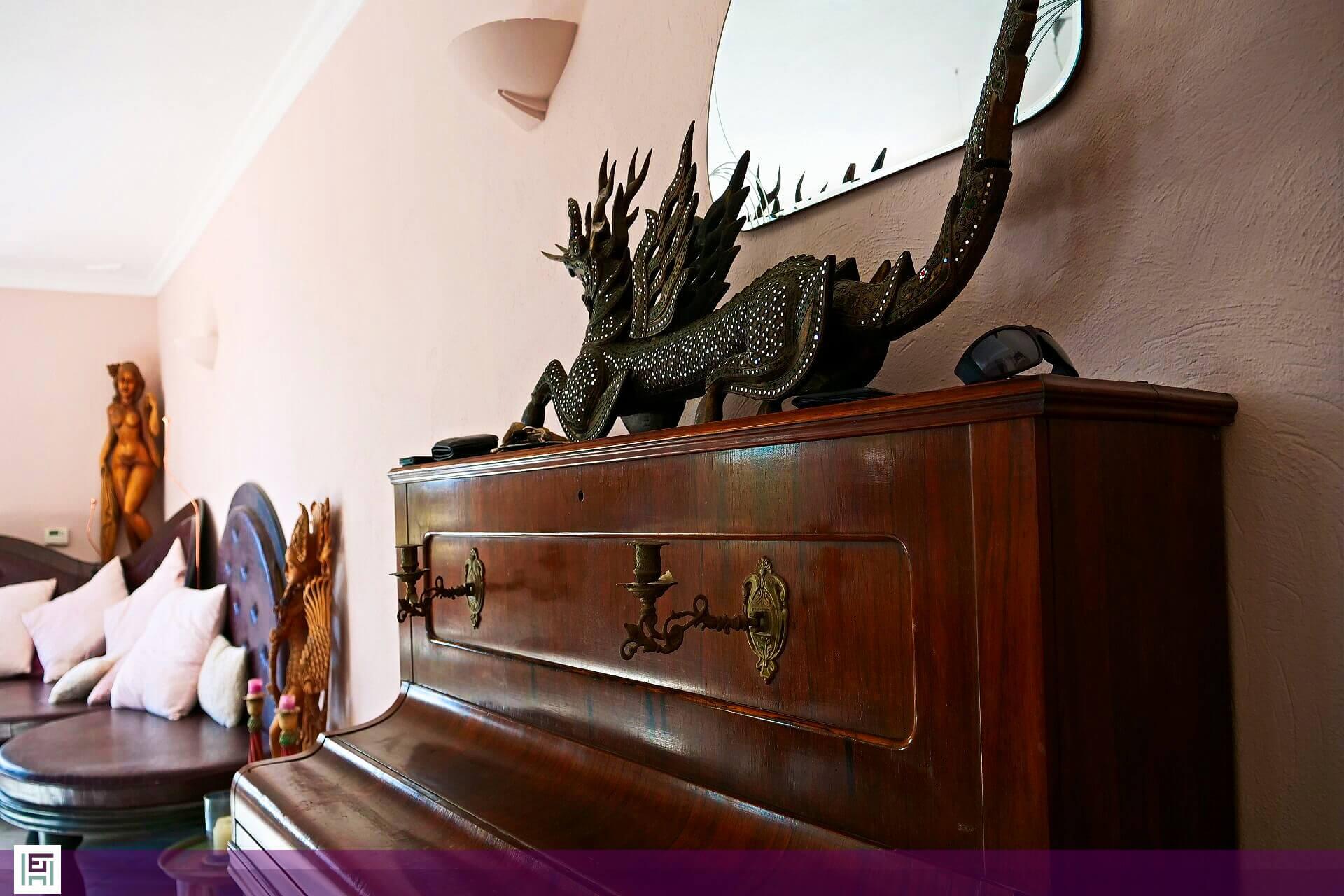 Villa Aladin - Piano