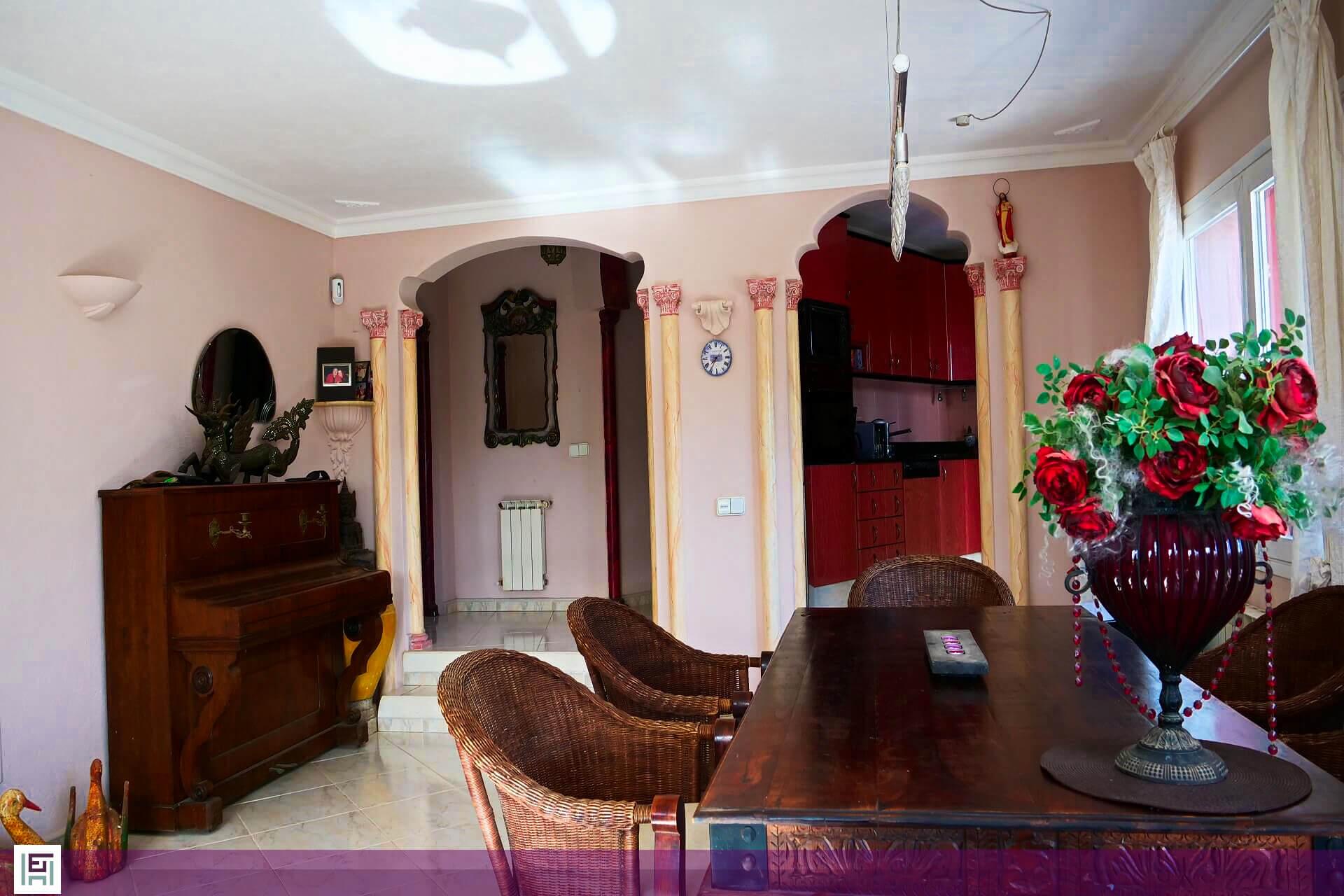 Villa Aladin - Dining area
