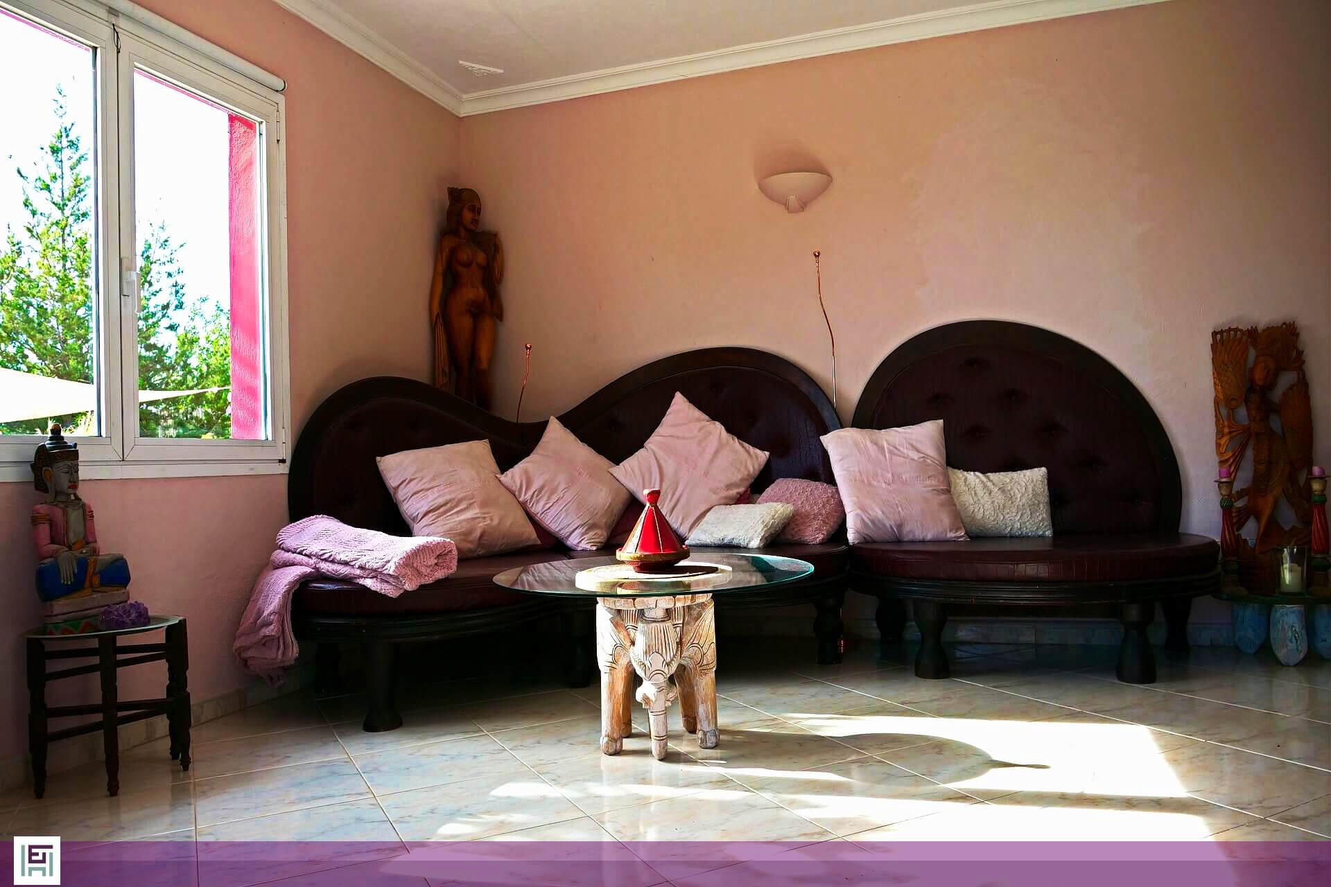 Villa Aladin - Wohnzimmer