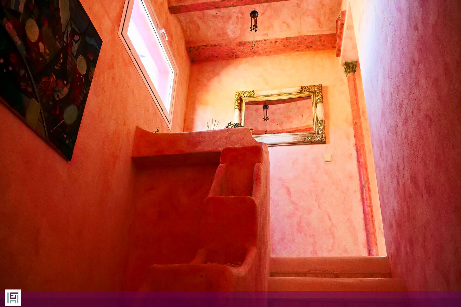 Villa Aladin - Treppenaufgang
