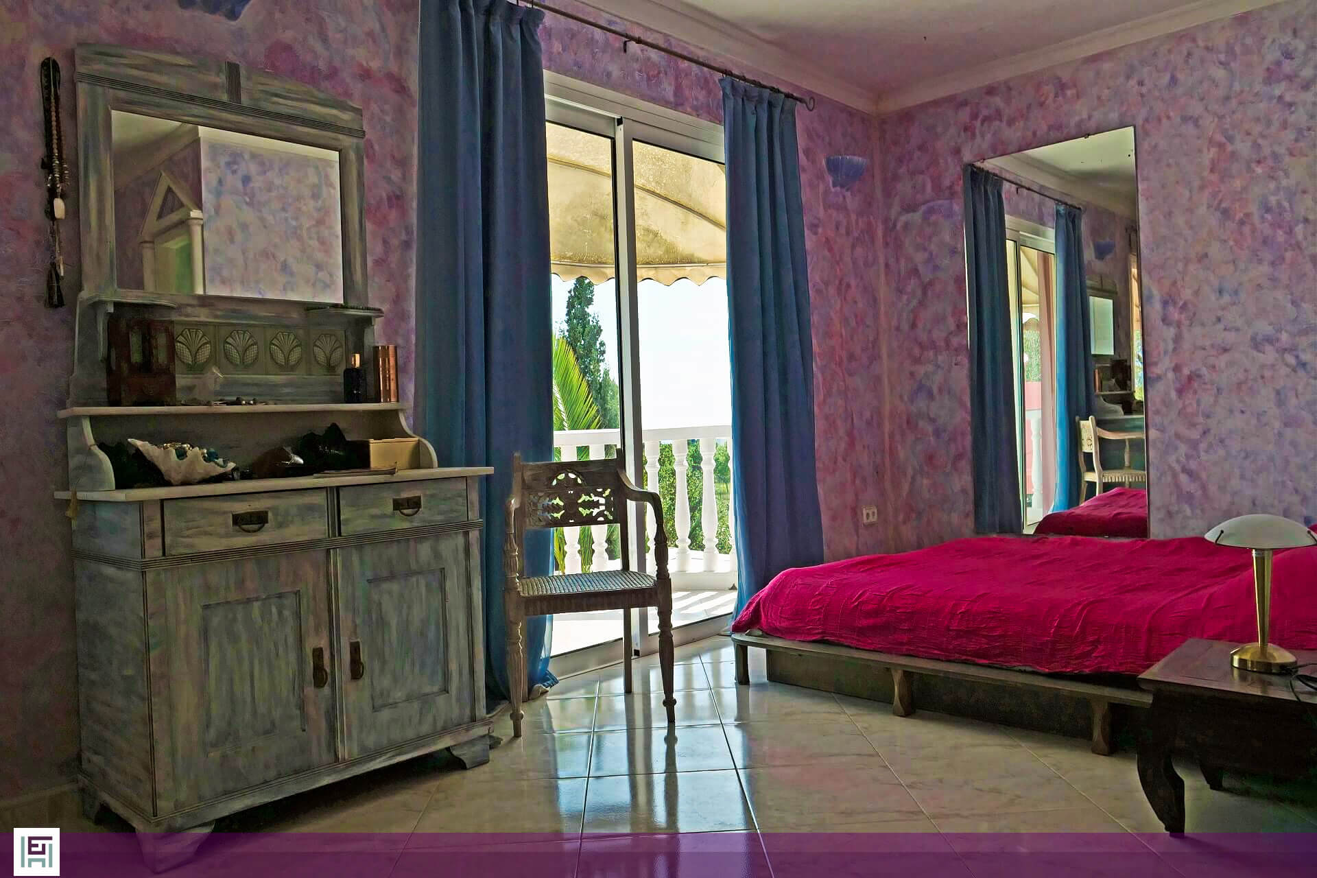 Villa Aladin - Bedroom