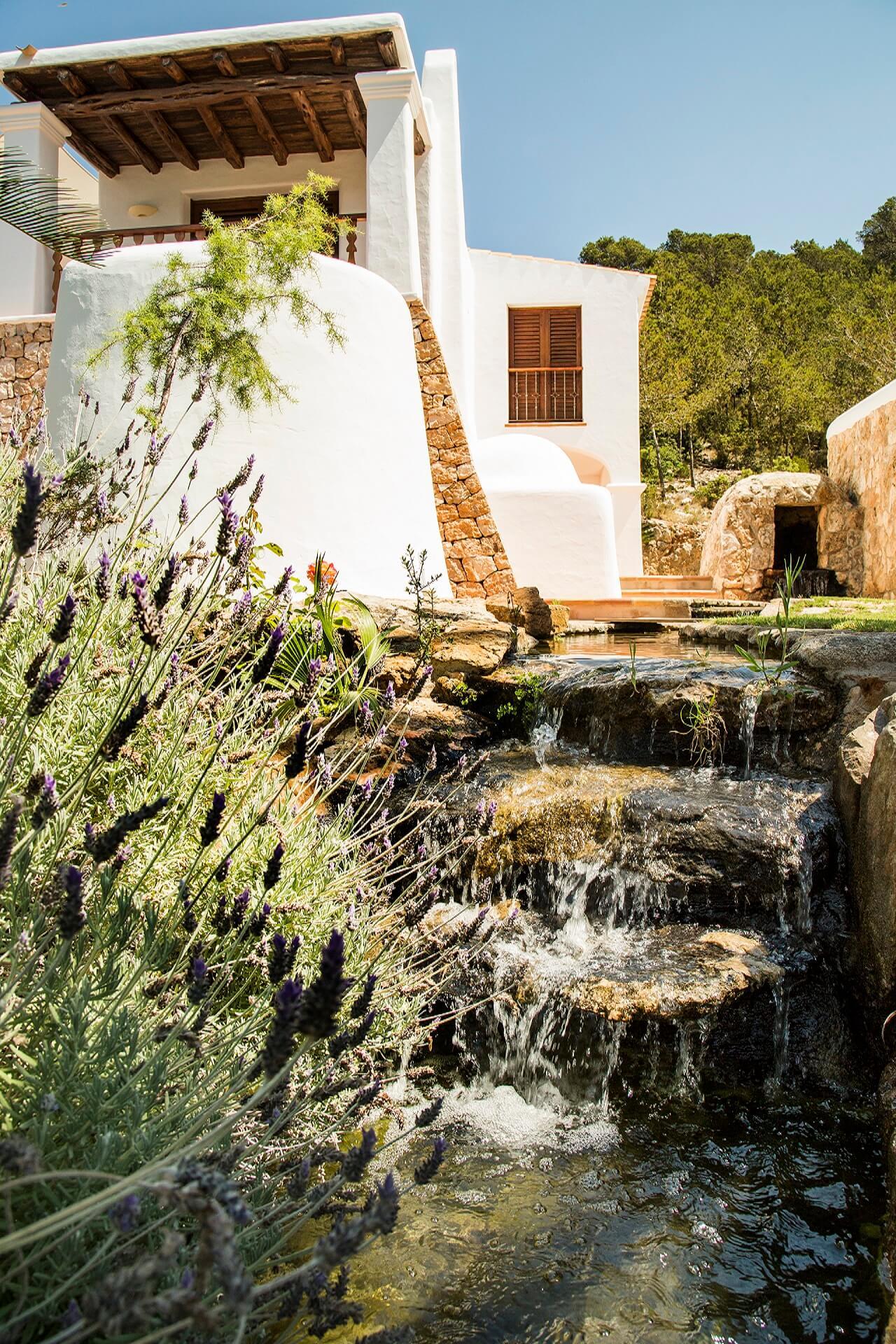 Ville Torres Carón - Garten