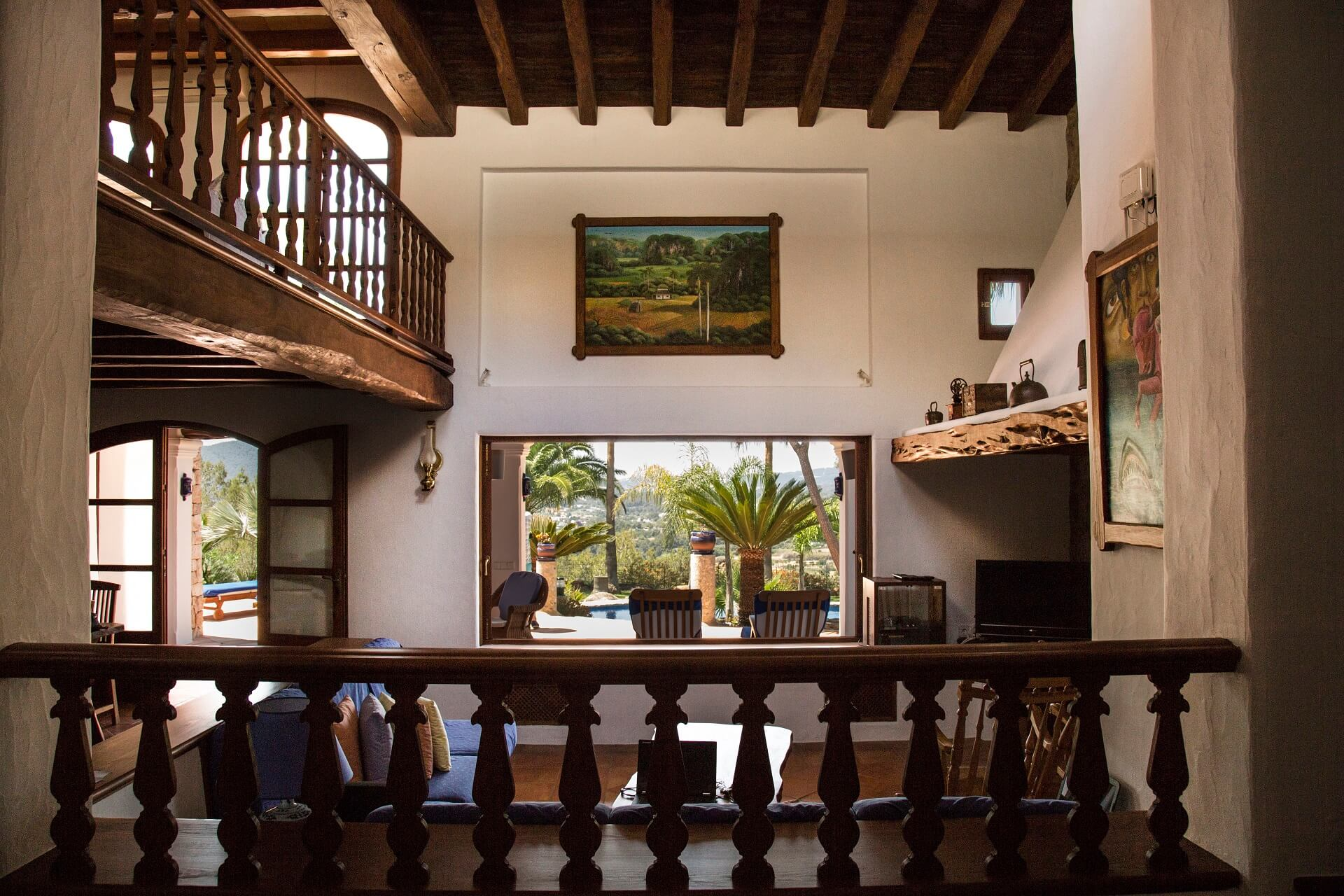 Villa Torres Carón - Entrée