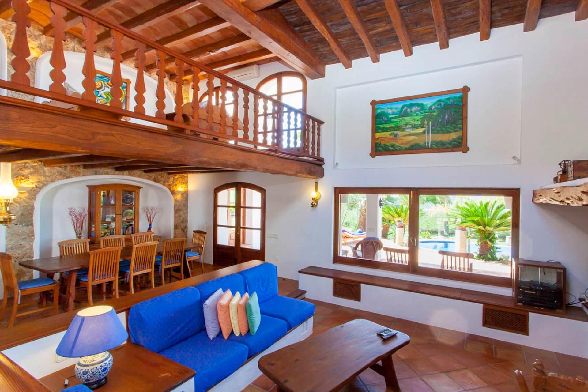 Villa Torres Carón - Wohnzimmer