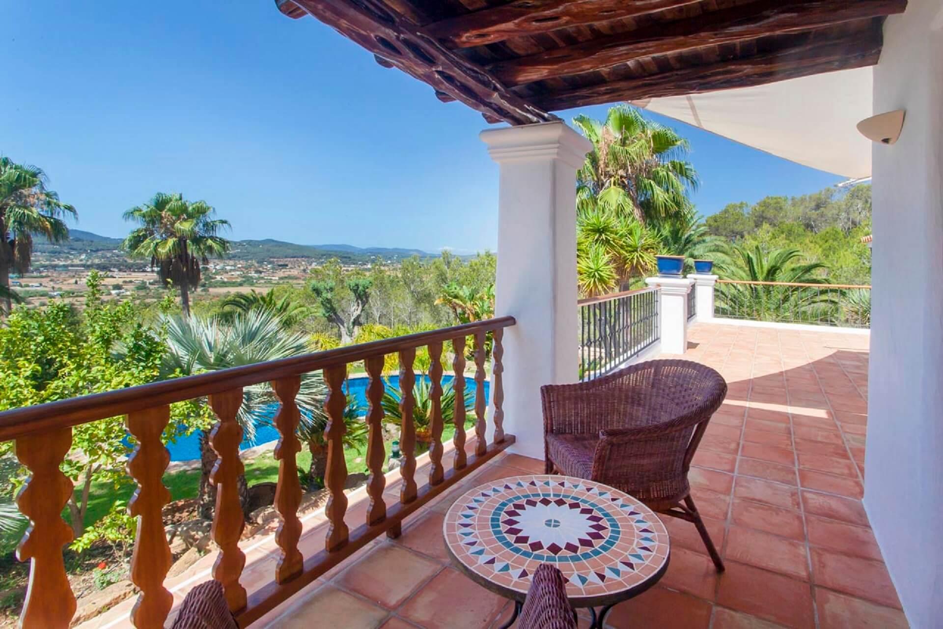Villa Torres Carón - Balkon