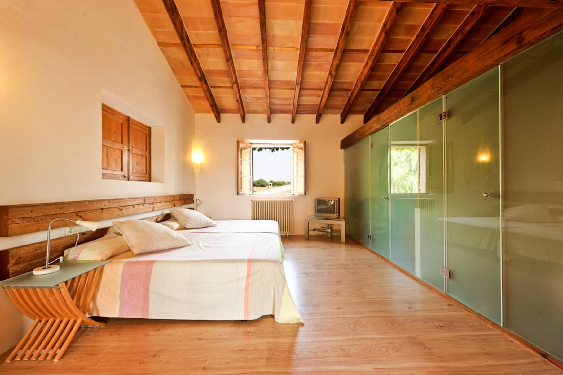 Finca Son Rito - Bedroom main house, first floor left