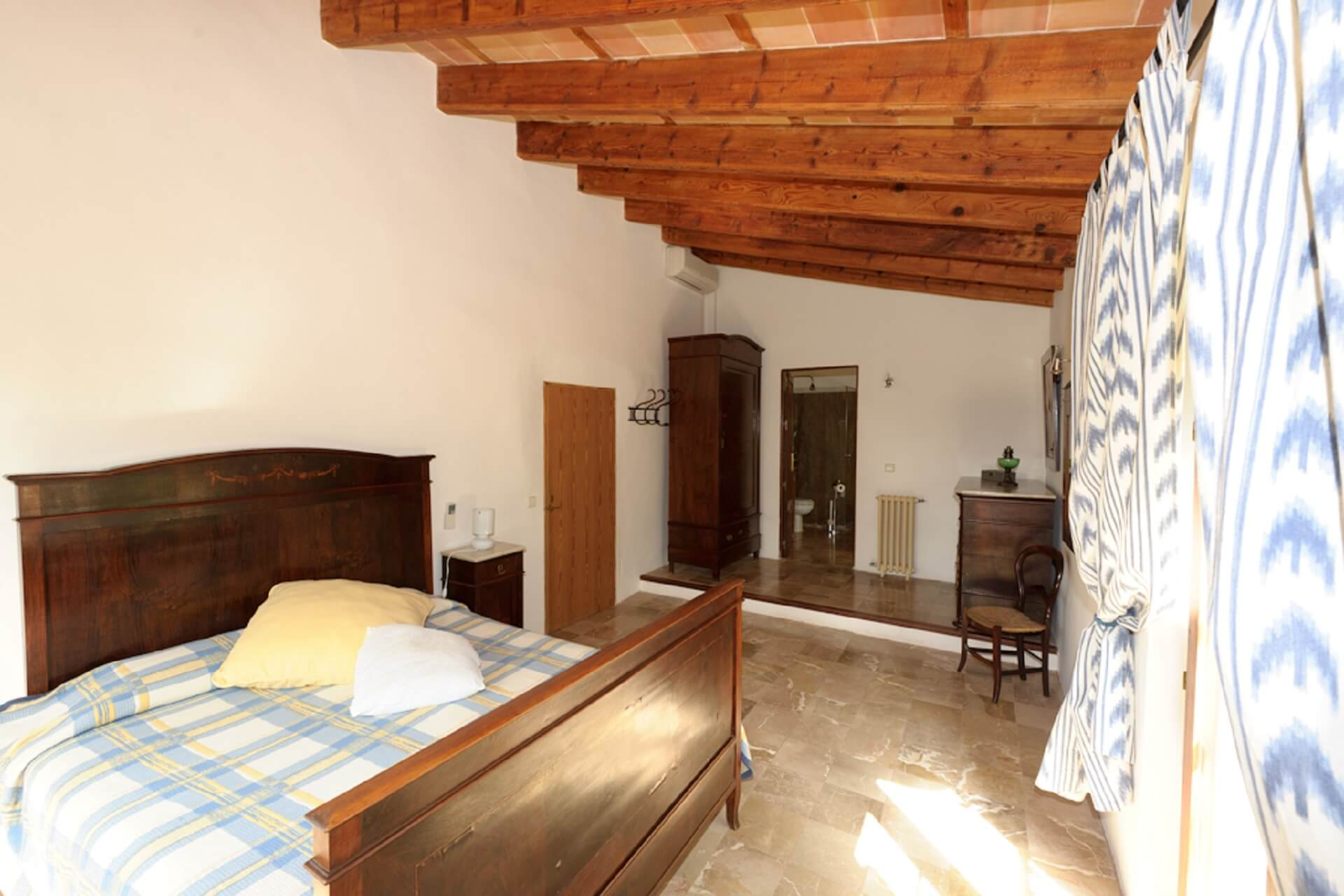 Finca Son Rito - Bedroom main house, first floor right
