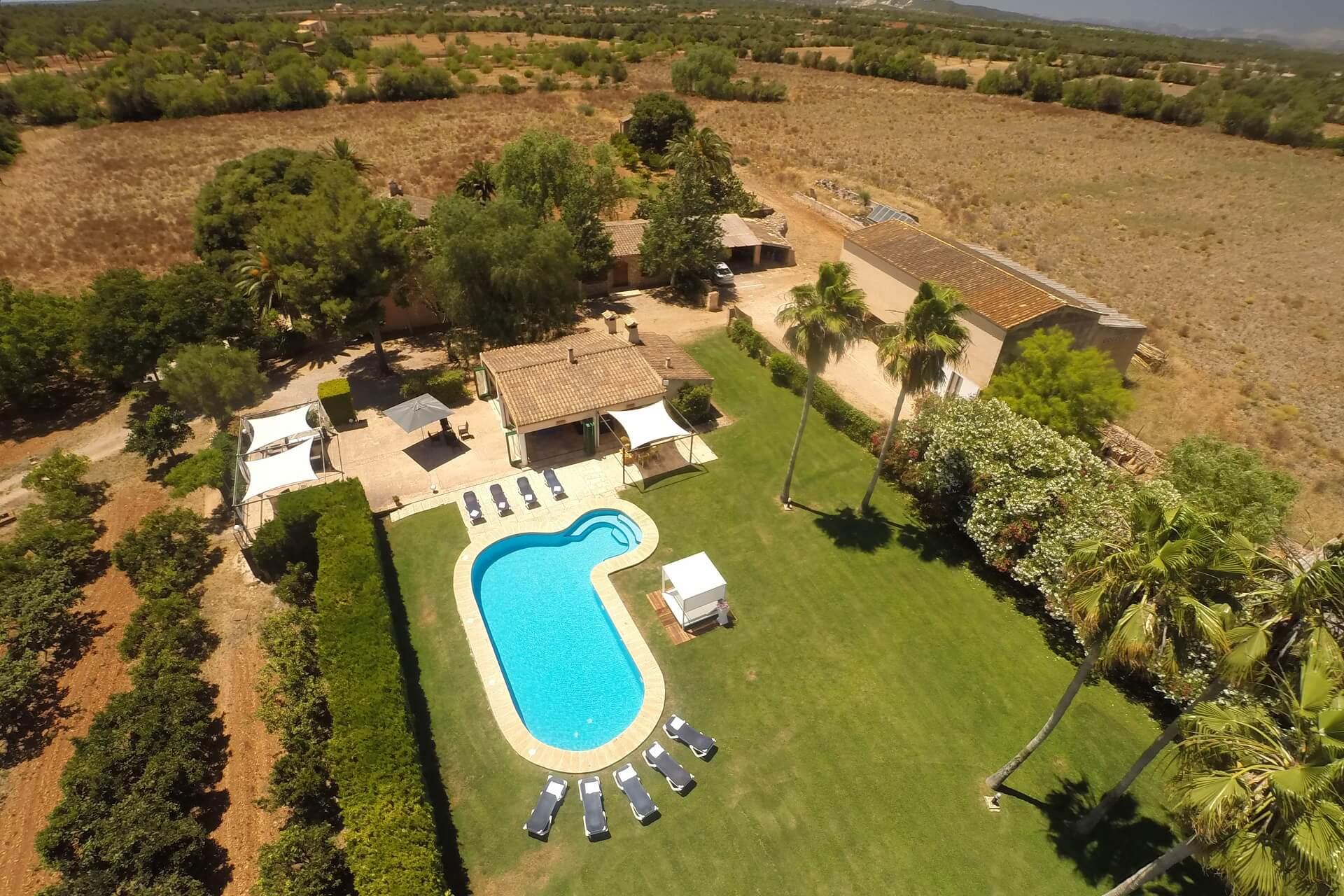 Finca Son Rito - Luftaufnahme