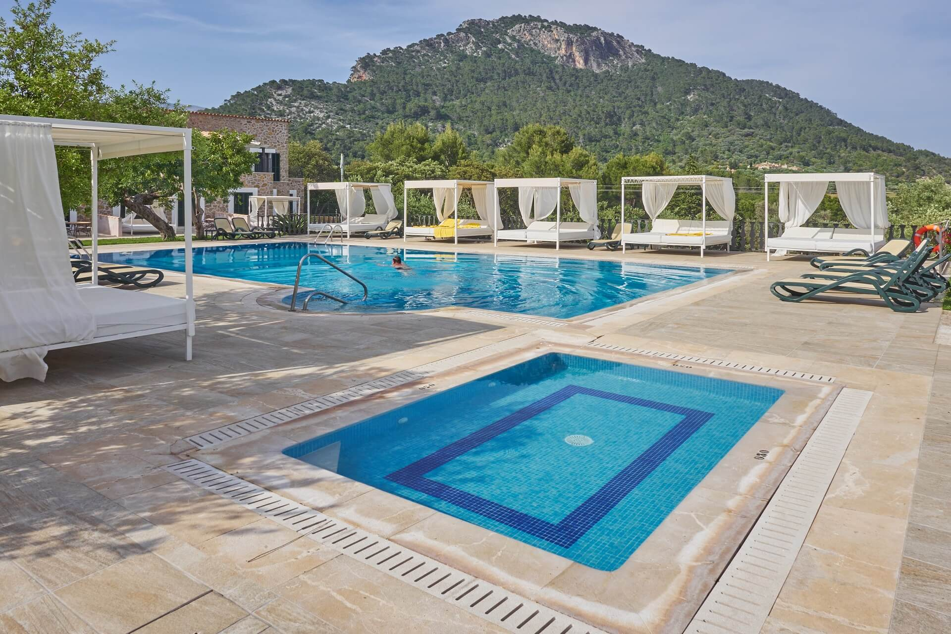 Hotel Finca Binibona - Swimming pool