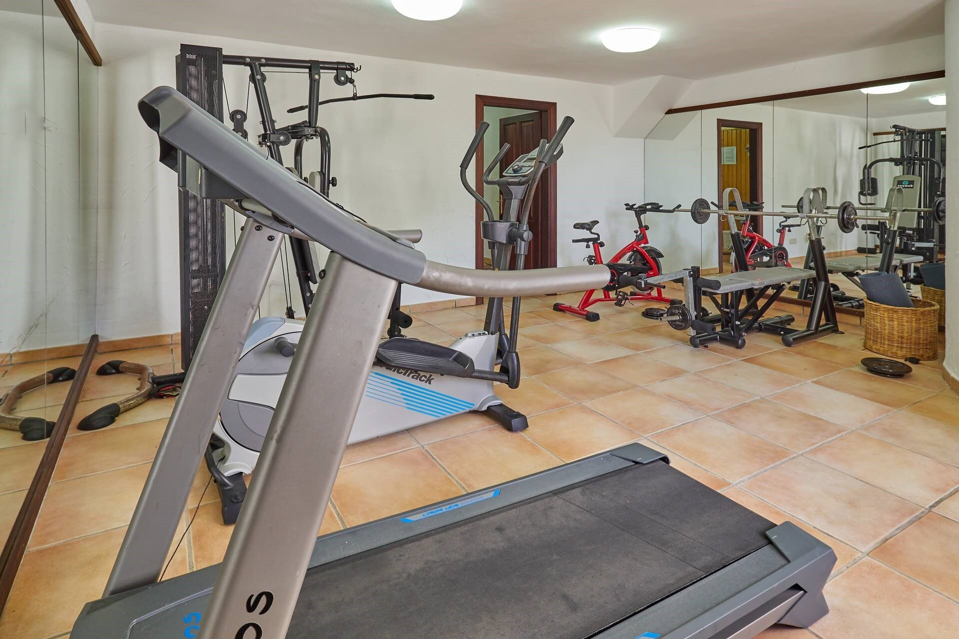 Hotel Finca Binibona - Fitness room