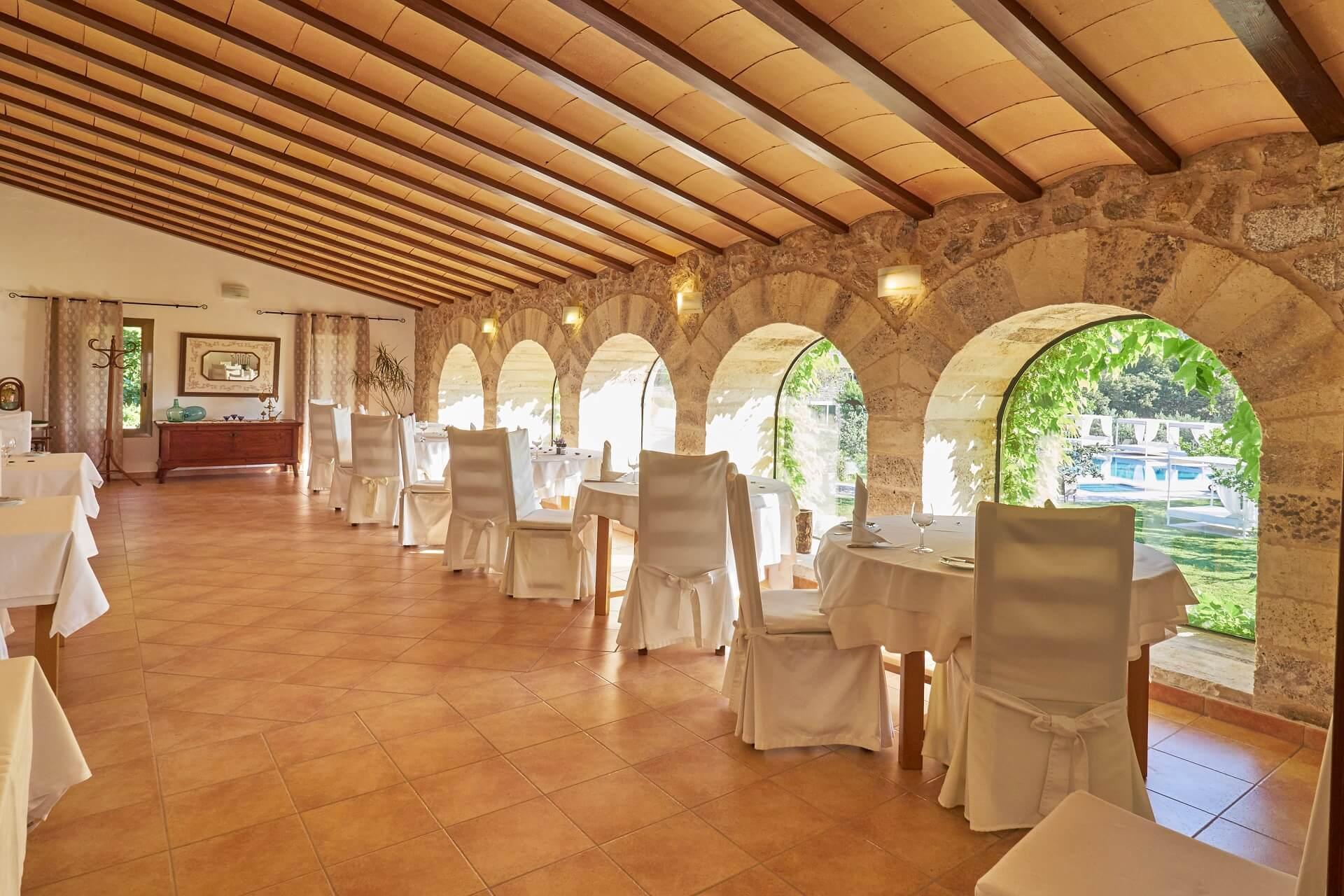 Hotel Finca Binibona - Dining room