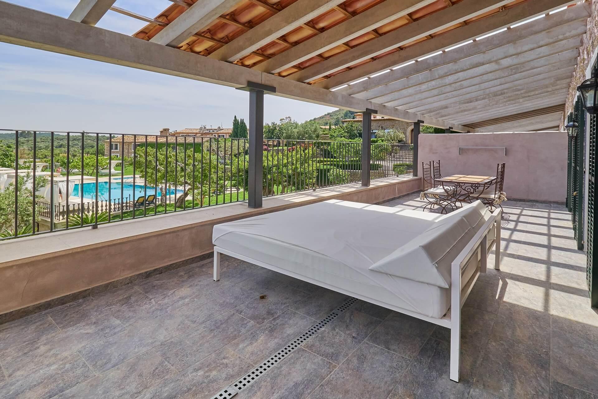 Hotel Finca Binibona - Suite Superior terrace