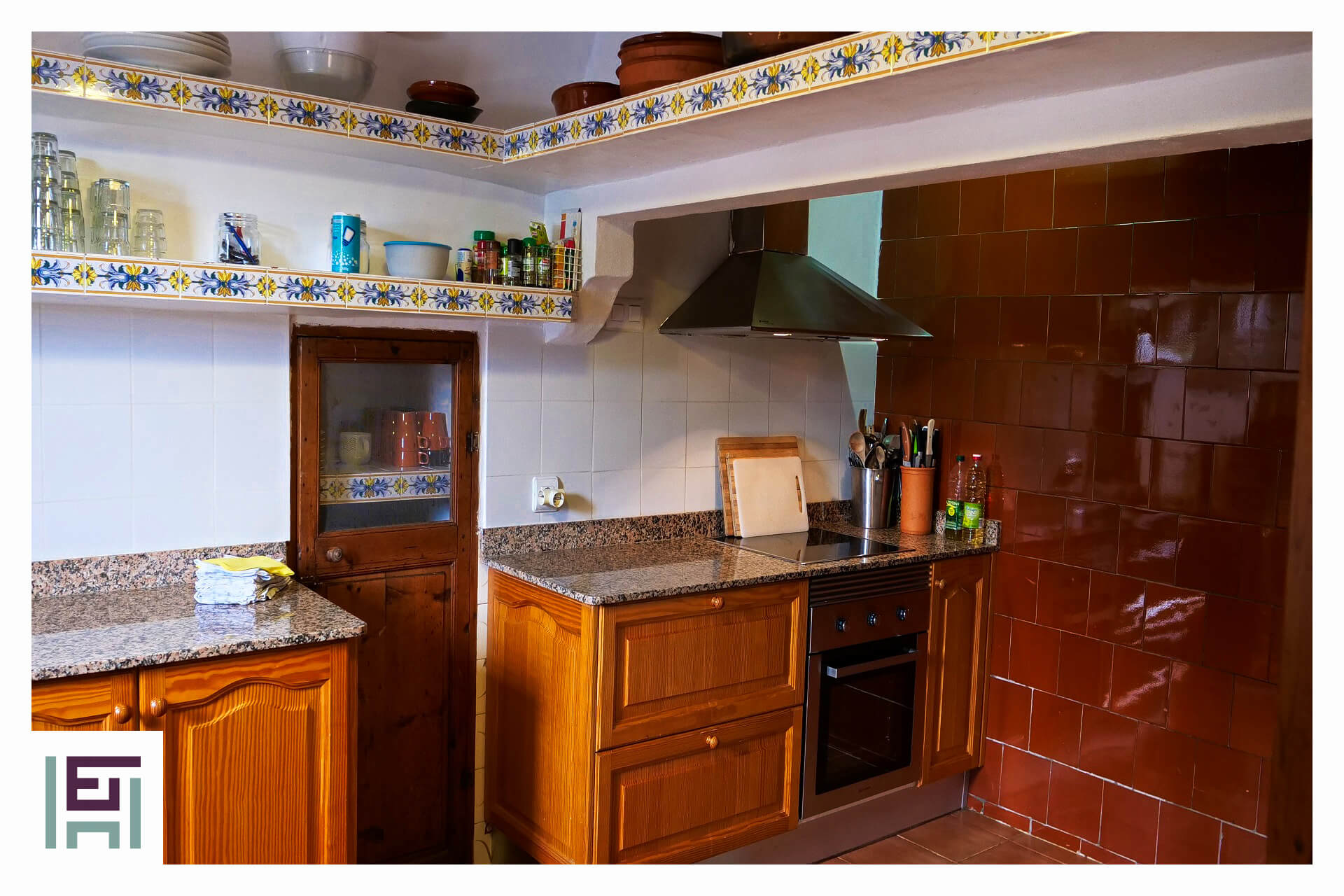 Finca Can Rotger - tradional kitche