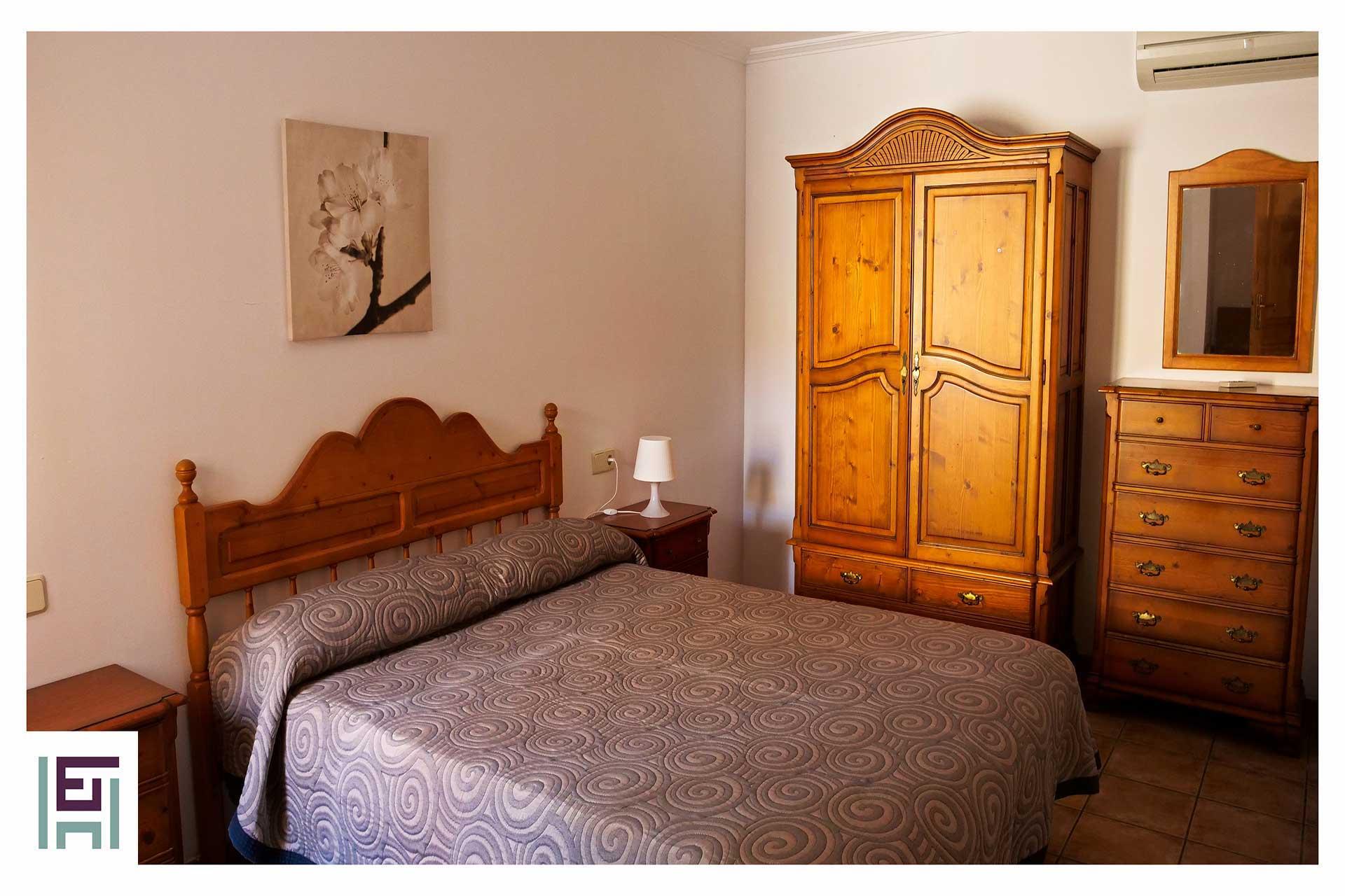Finca Sa Pedrera - Schlafzimmer Gartenebene hinten