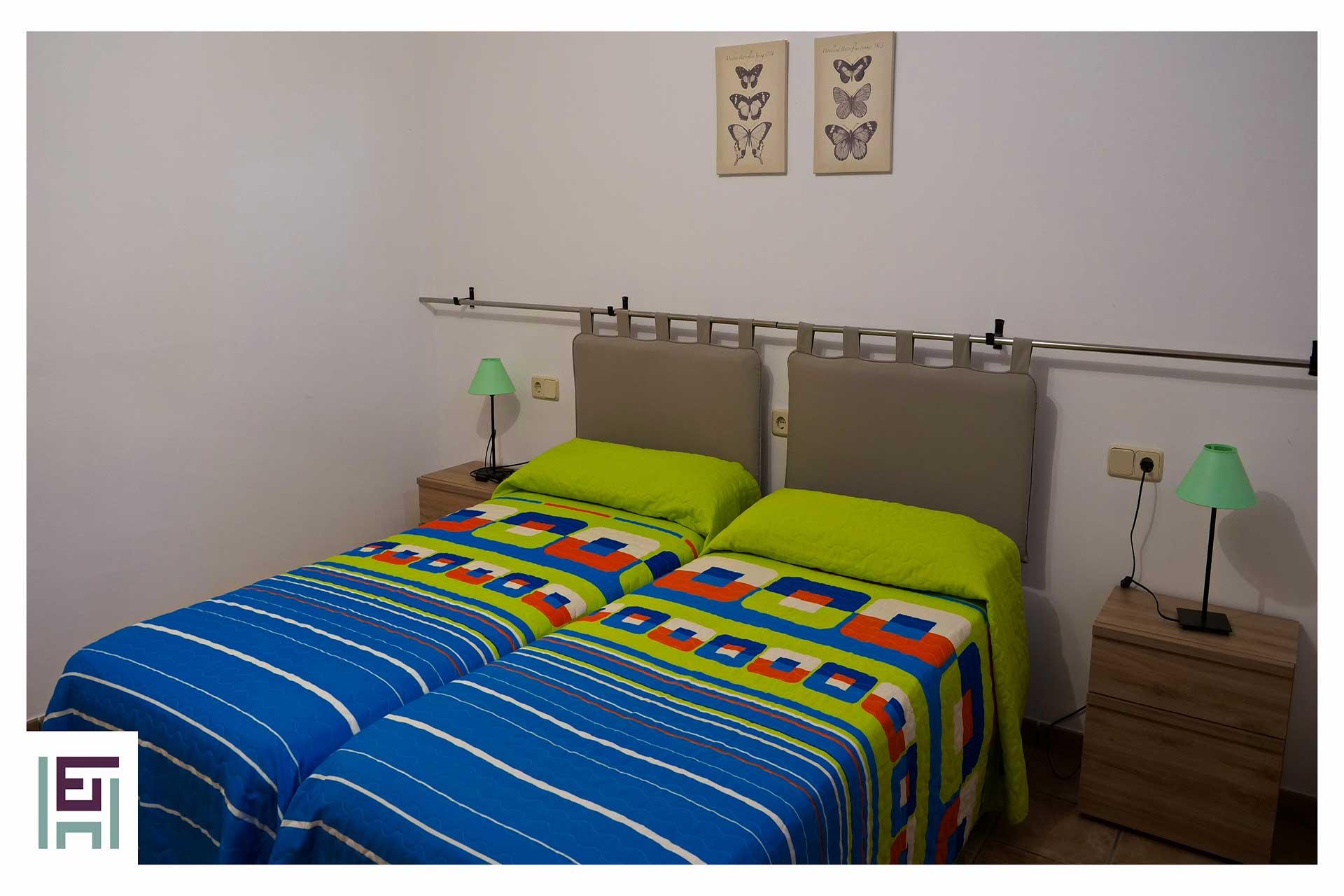 Finca Sa Pedrera - Schlafzimmer Gartenebene re.