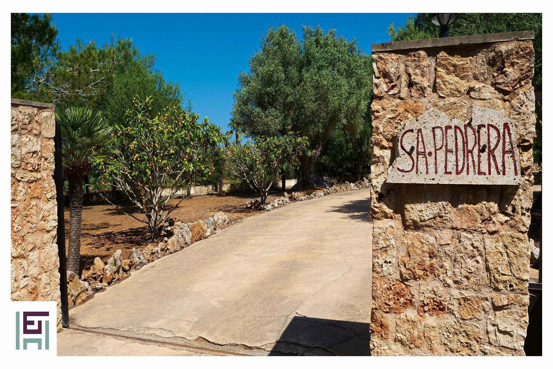 Finca Sa Pedrera - Eingang