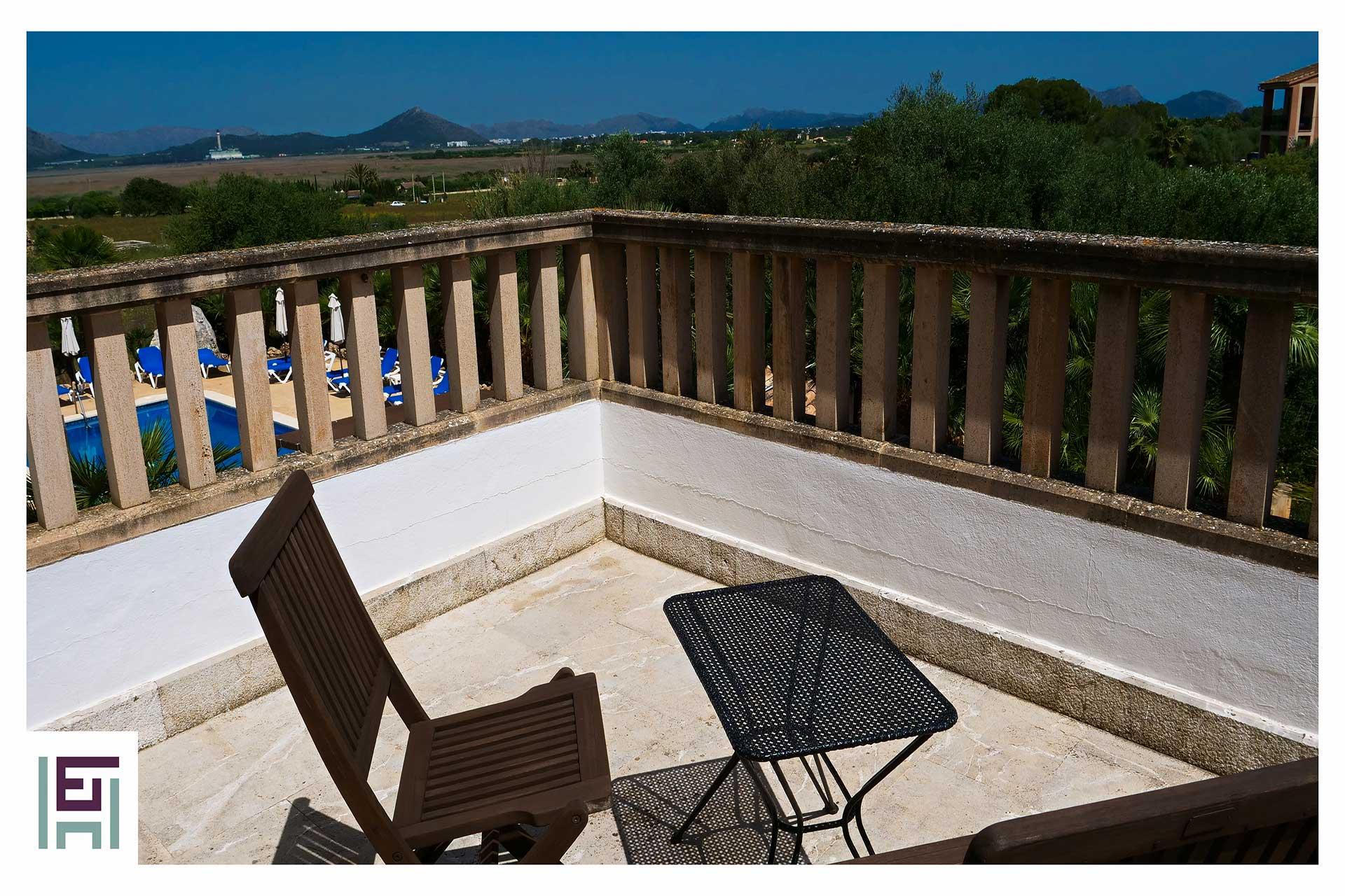 Finca Sa Pedrera - Terrasse Obergeschoss
