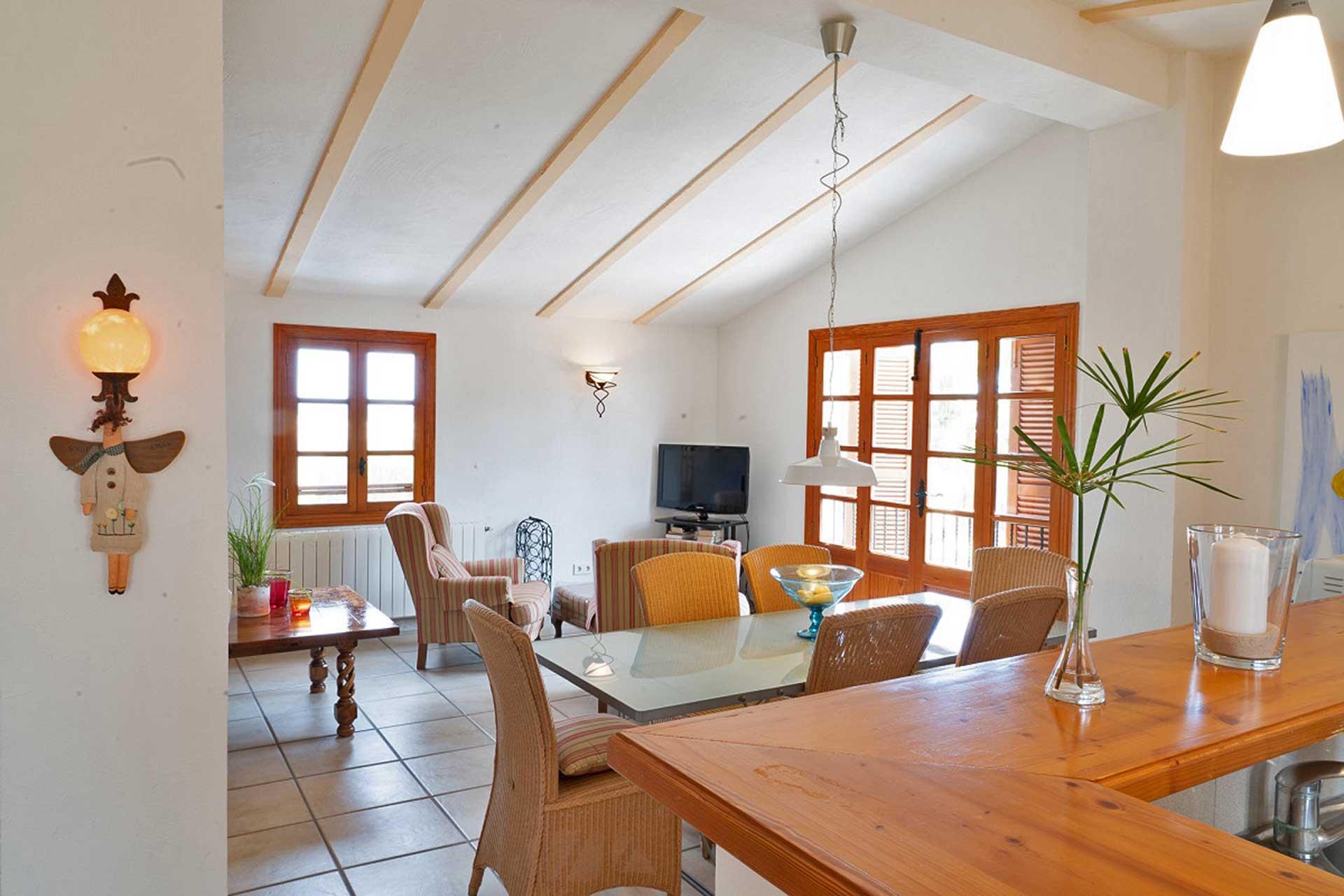Finca C'an Murtera - Living area