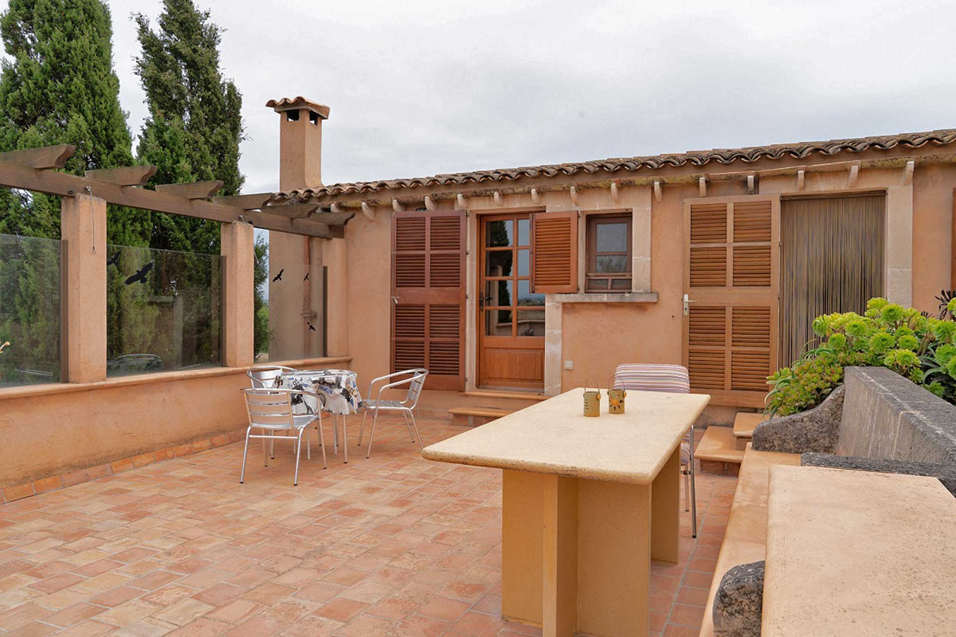 Finca C'an Murtera - Roof terrace annex building
