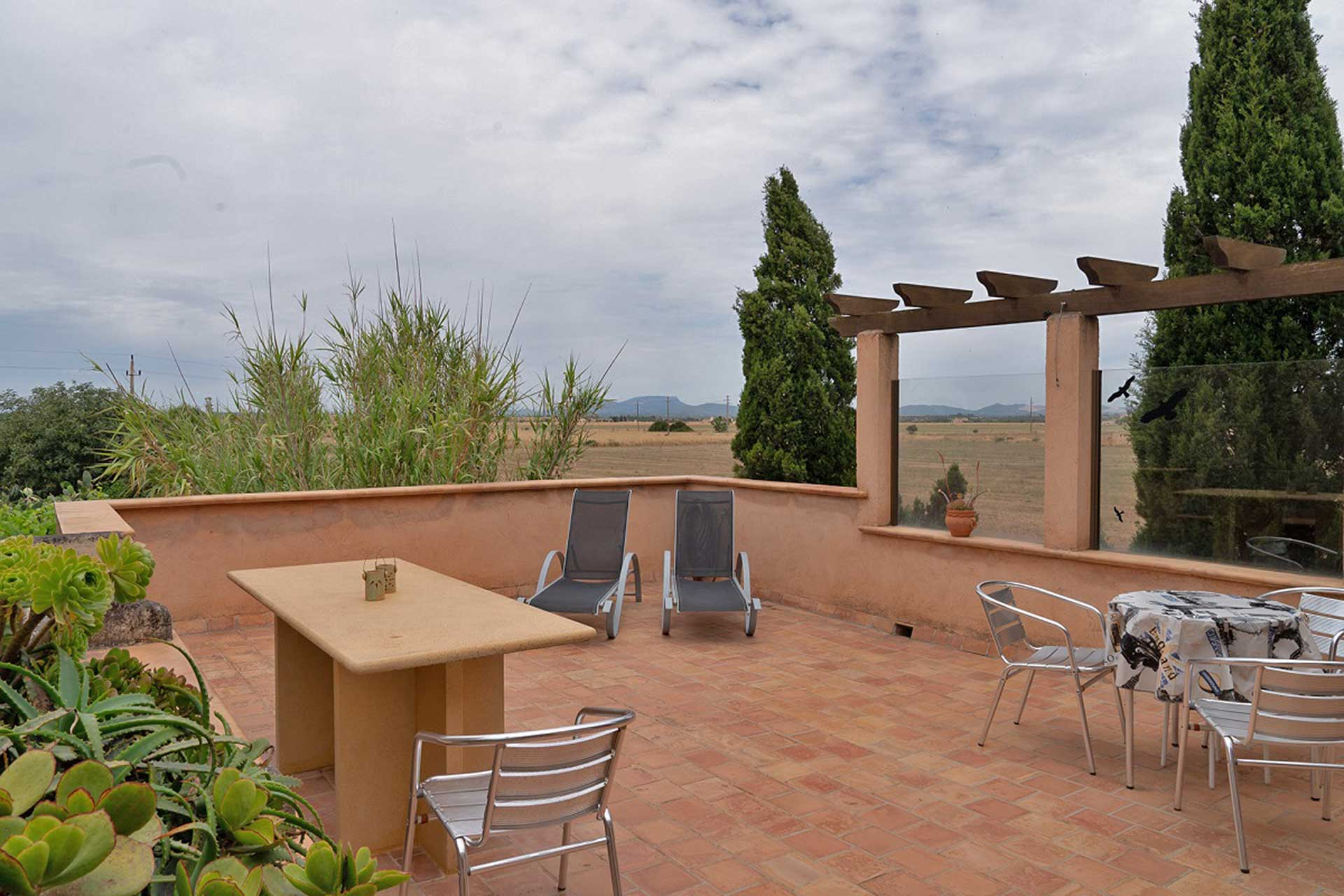 Finca C'an Murtera - Roof terrace