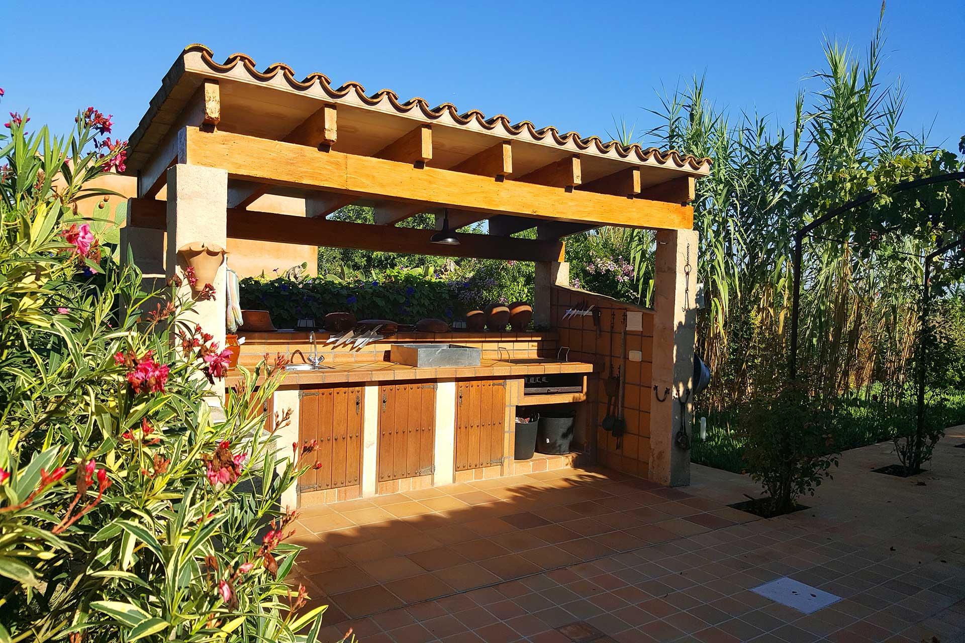 Finca C'an Murtera - Outdoor kitchen