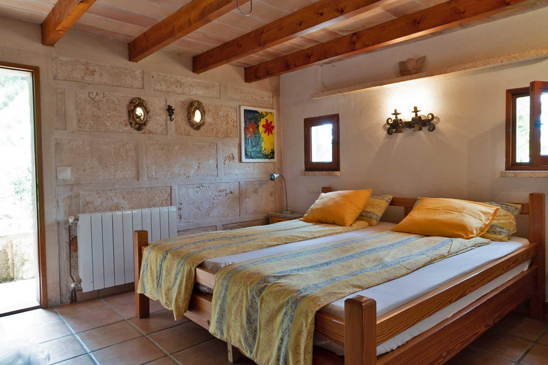 Finca C'an Murtera - Bedroom ground floor