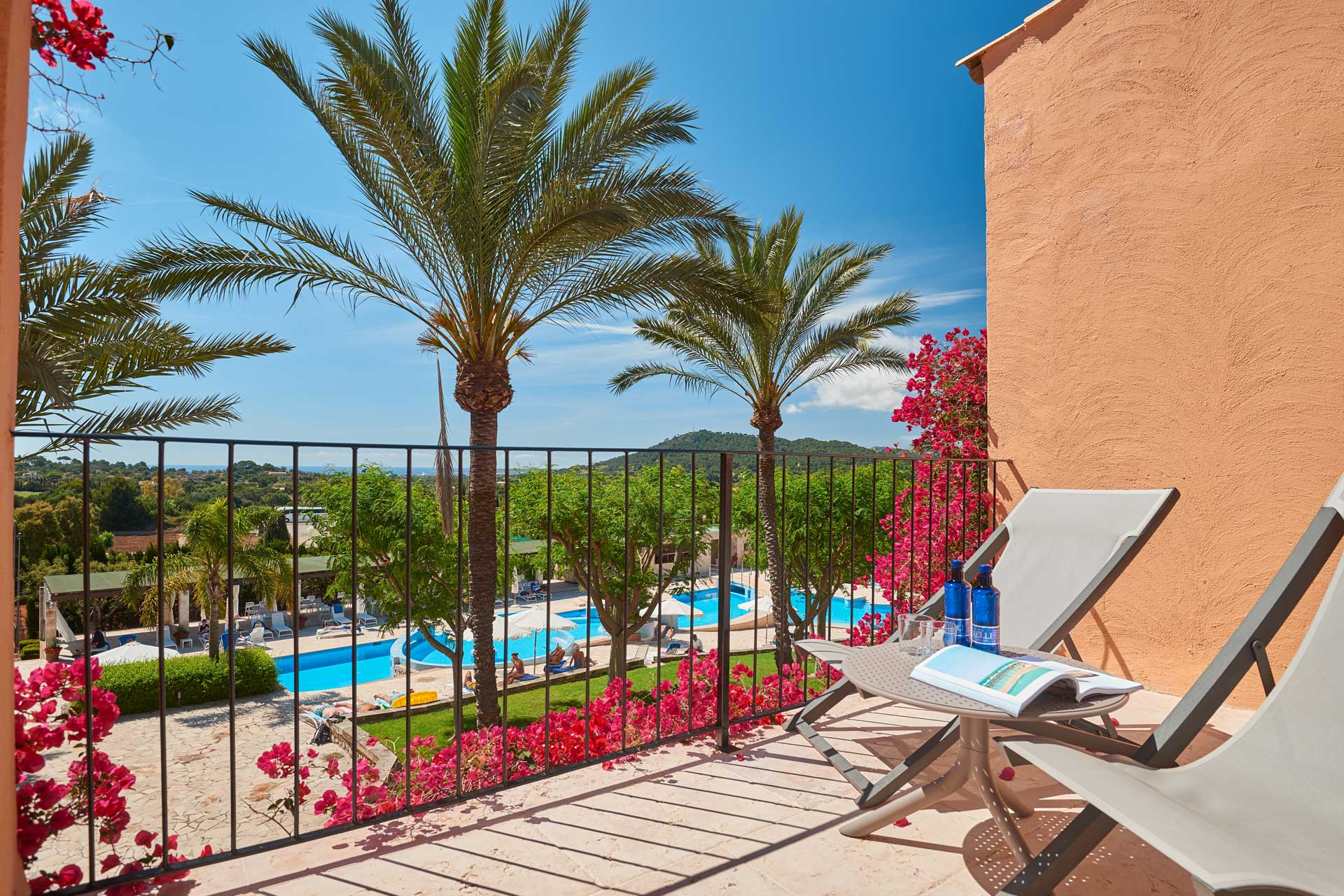 Finca-Hotel Sentido Pula Suites - Superior Suite balcony or terrace