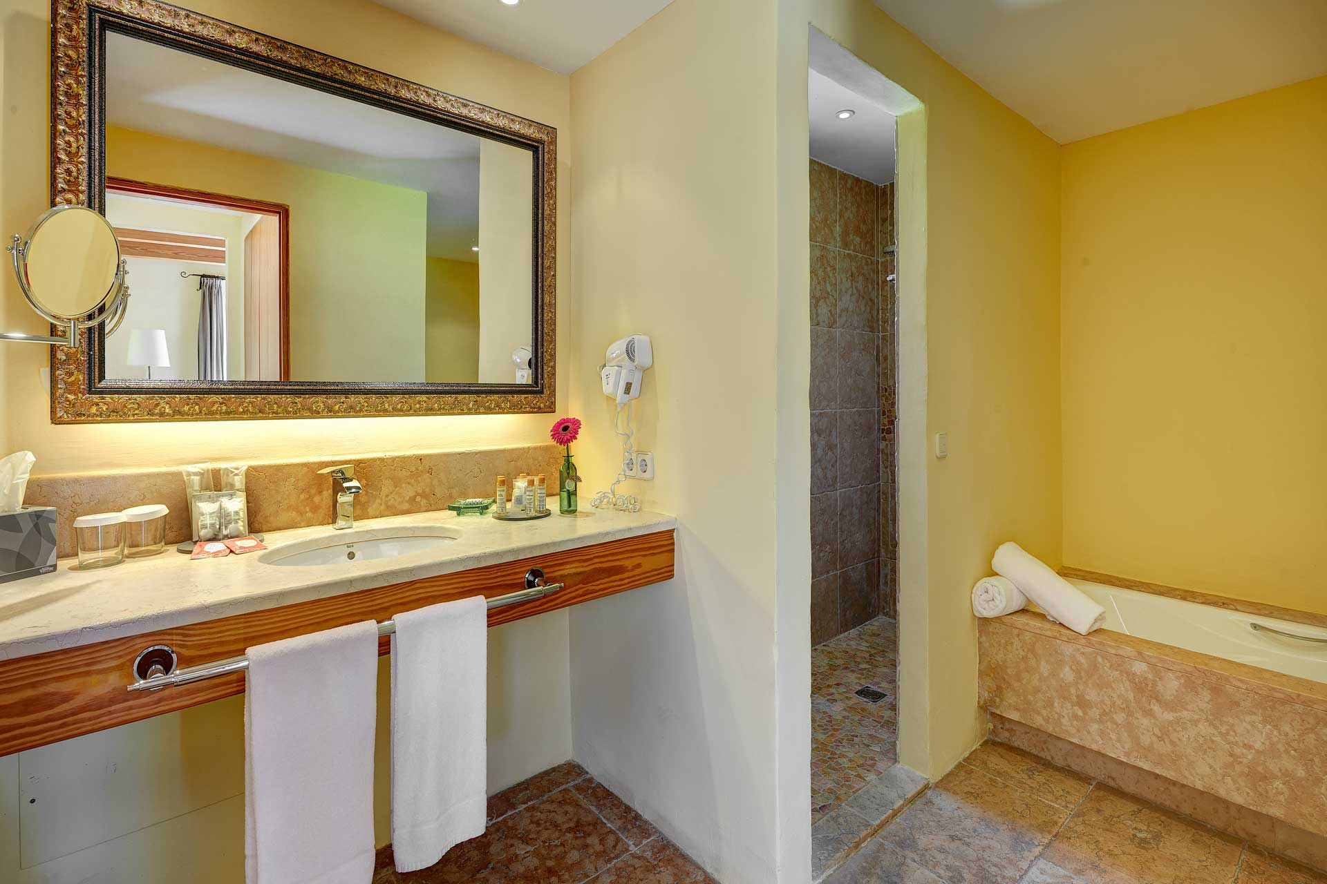Finca-Hotel Sentido Pula Suites - Superior Suite with en suite bathroom