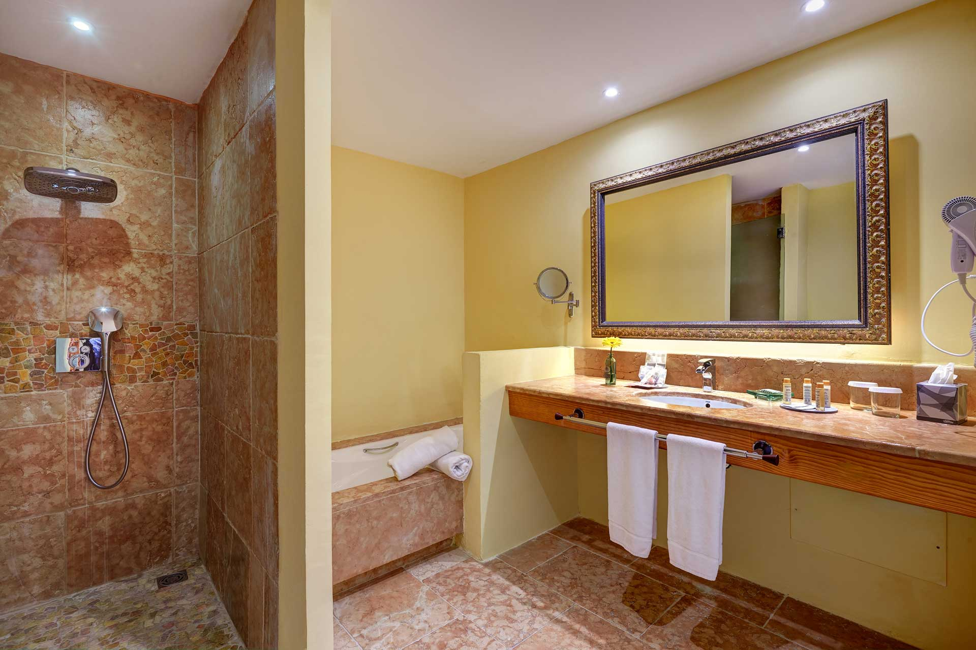Finca-Hotel Sentido Pula Suites - Superior Suite de Luxe with en suite bathroom
