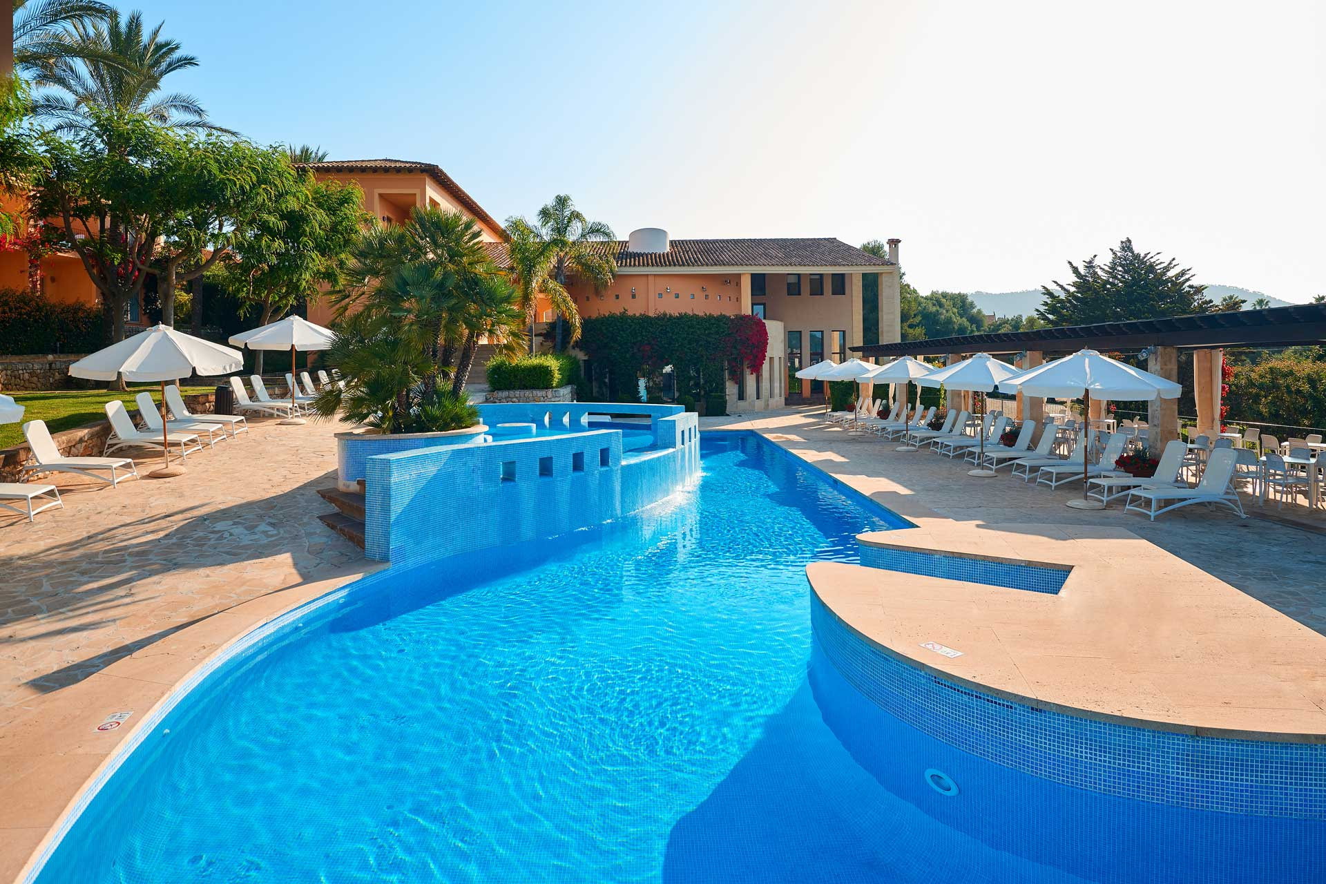Finca-Hotel Sentido Pula Suites - Swimming pool