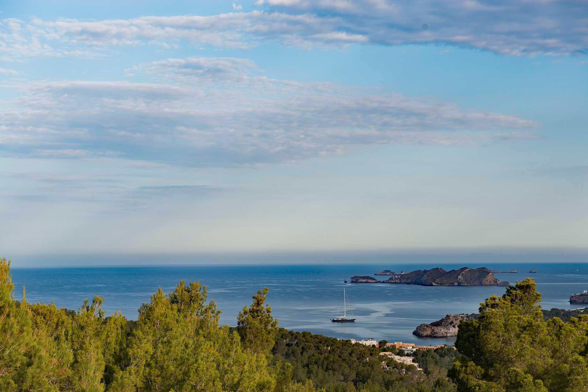 Villa Can Sankisha - Aussicht auf das Meer