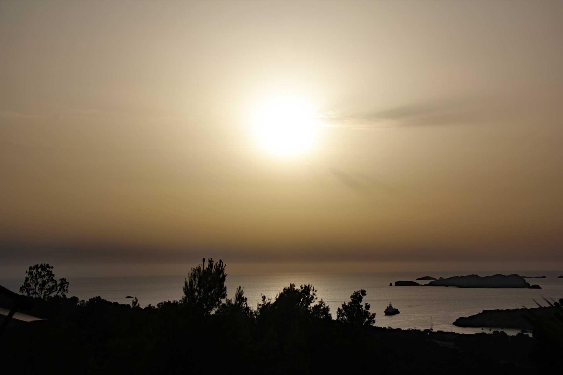 Villa Can Sankisha - Sonnenuntergang