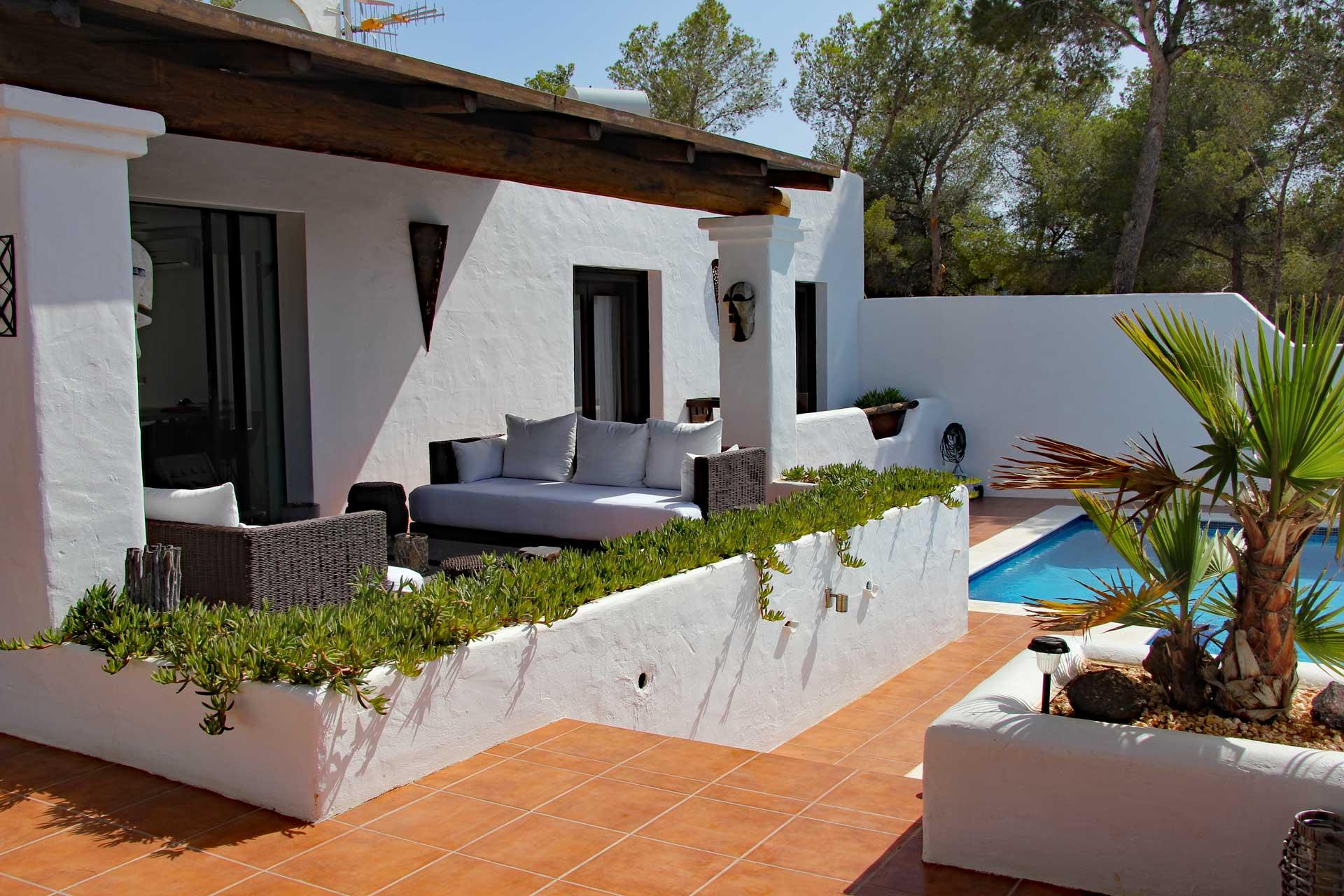Villa Can Sankisha - Terrassenbereich