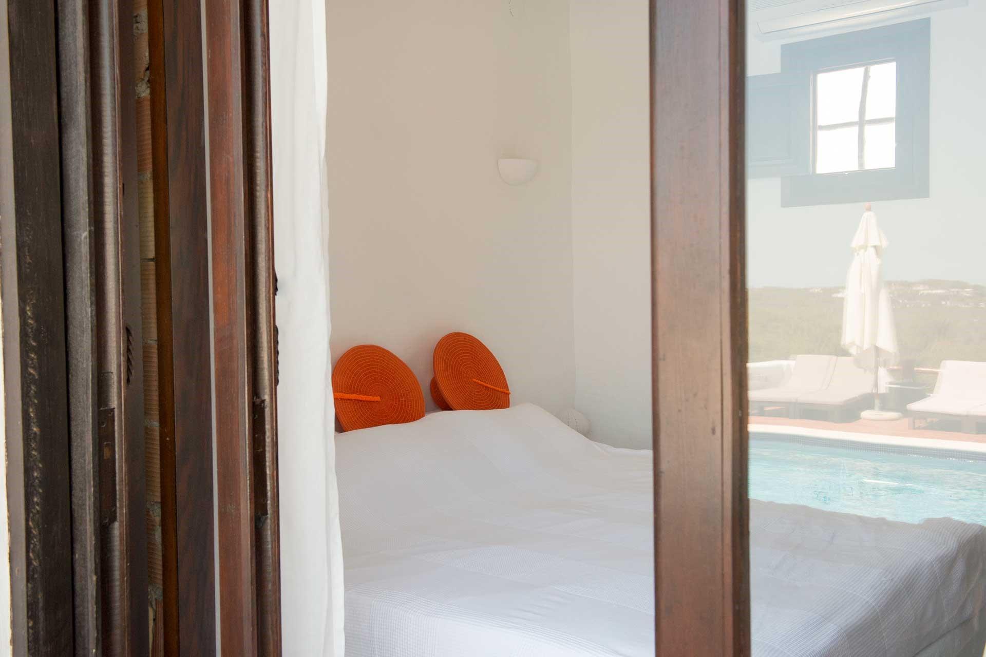 Villa Can Sankisha - Schlafzimmer Anbau 1 re
