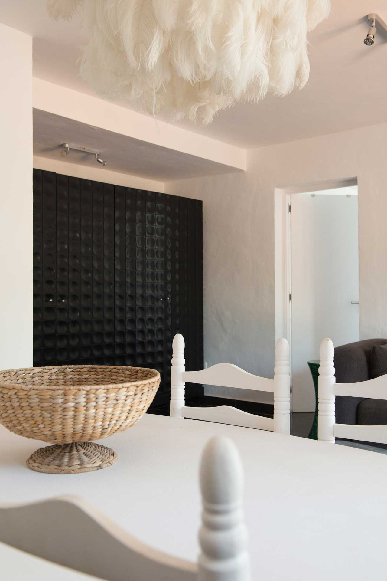 Villa Can Sankisha - Essbereich Gäste-Studio