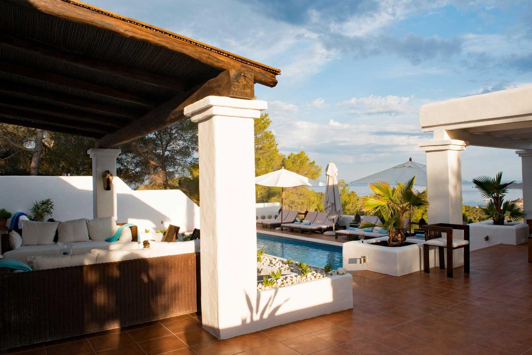 Villa Can Sankisha - Terrasenbereich