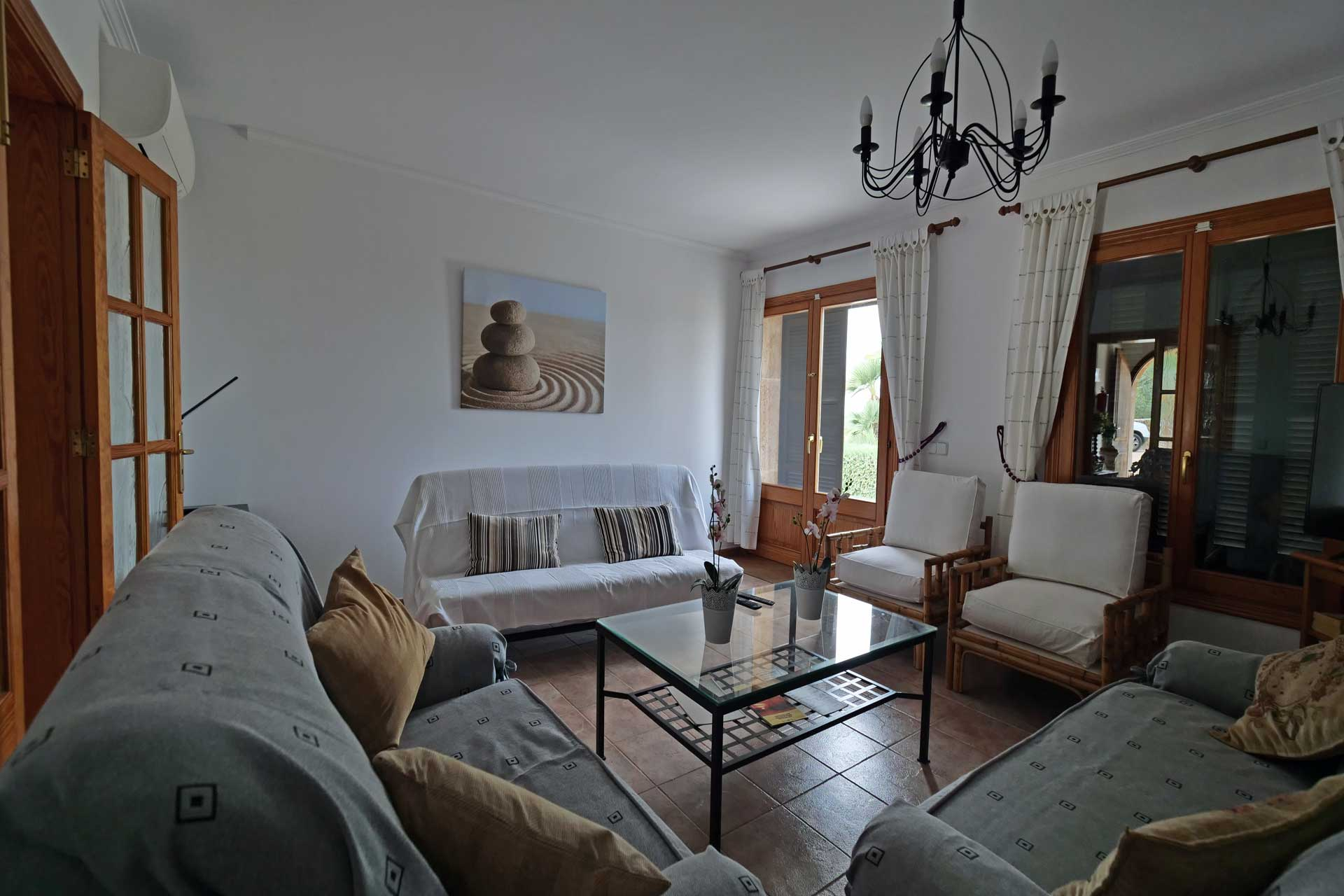 Finca Palmitos II - Living room