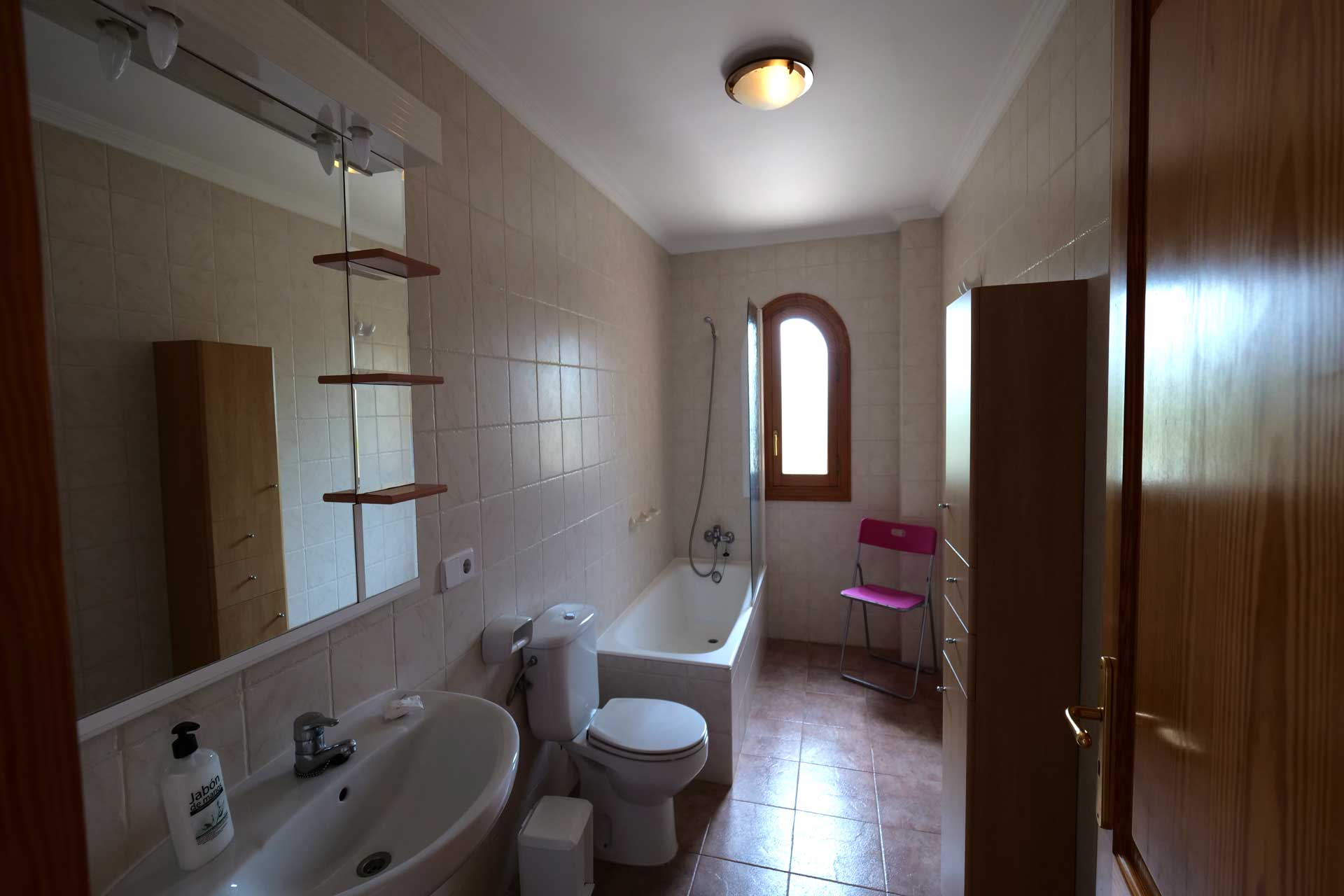 Finca Palmitos II - Bathroom first floor right