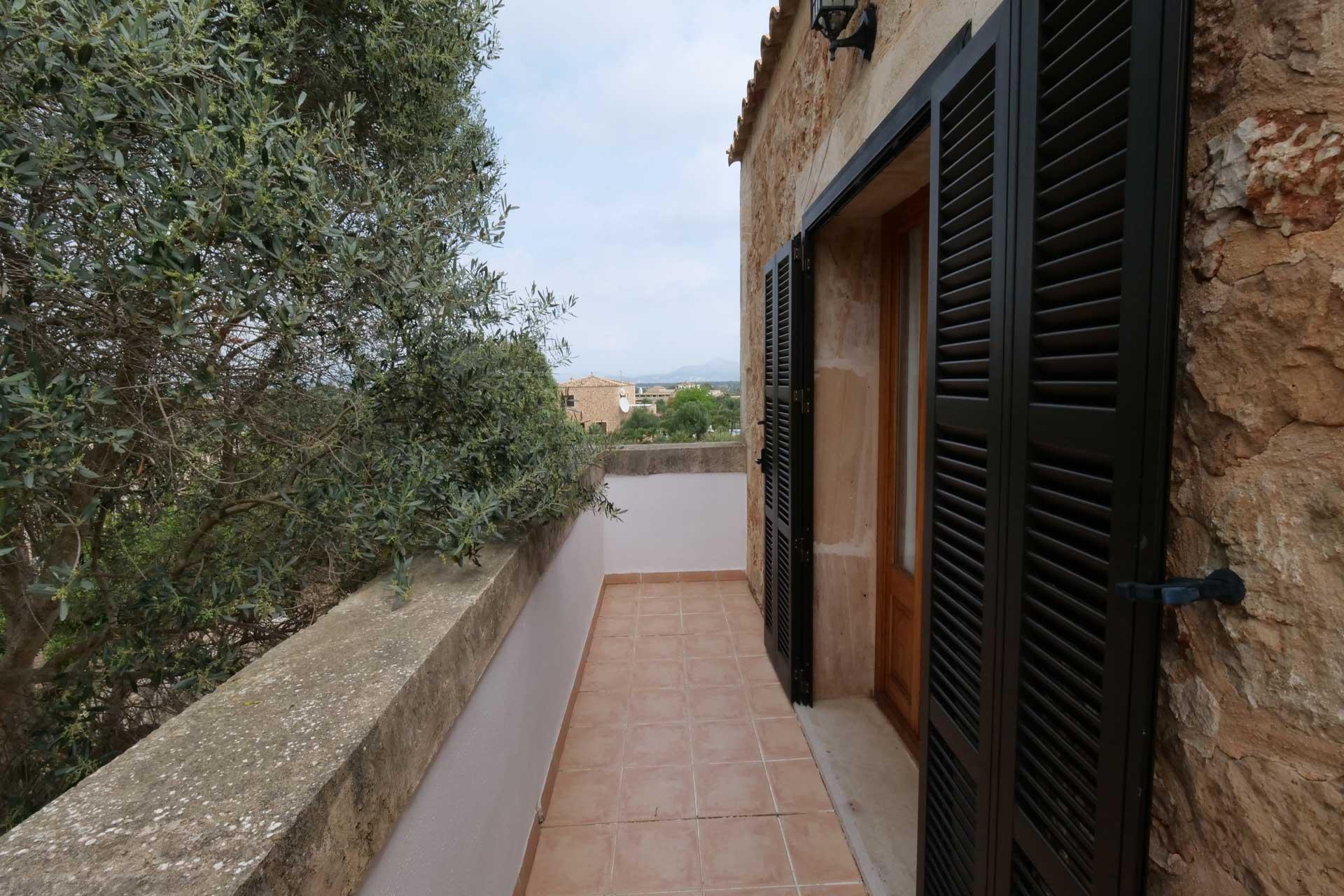 Finca Palmitos II - Balcony bedroom first floor right