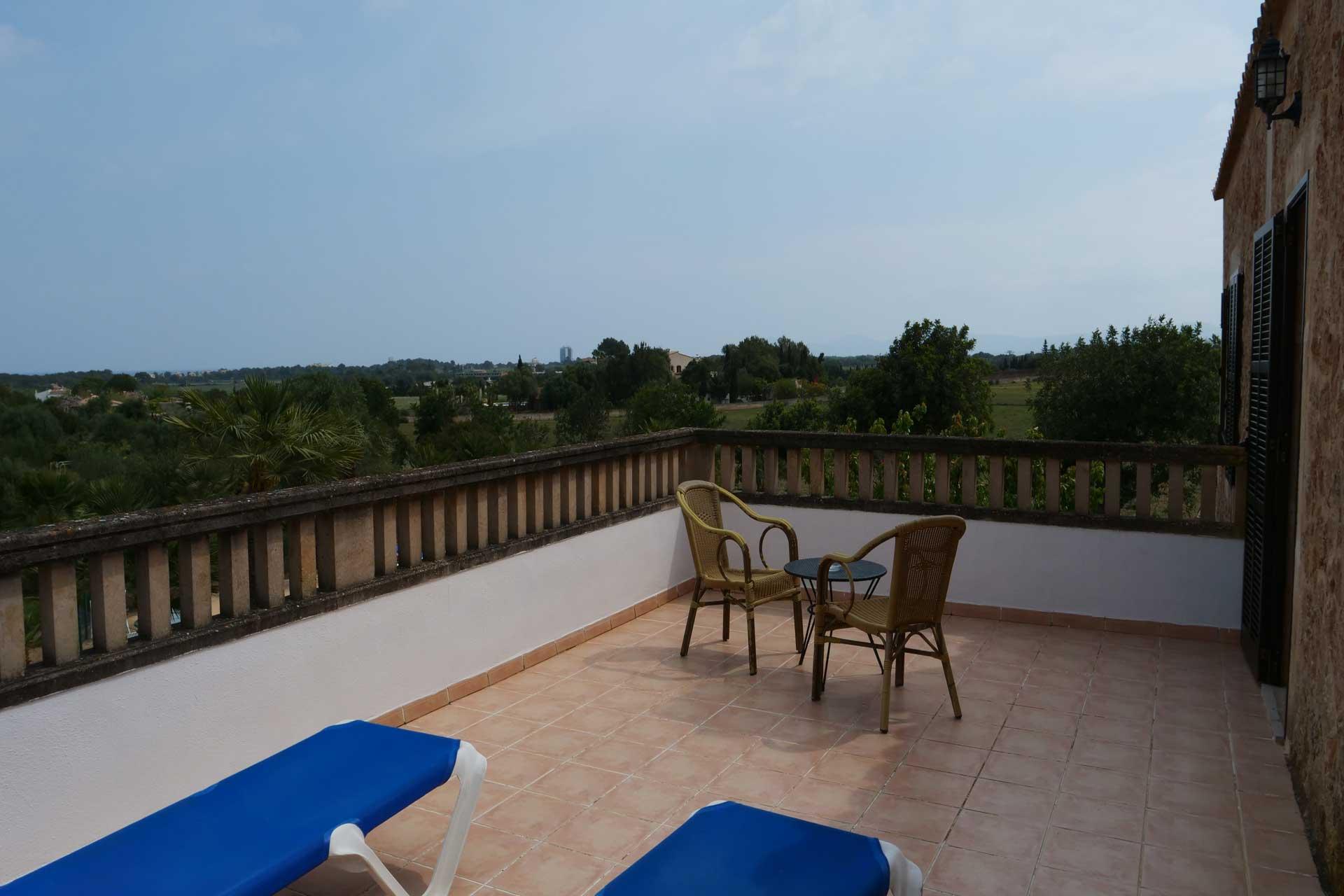 Finca Palmitos II - Terrace first floor