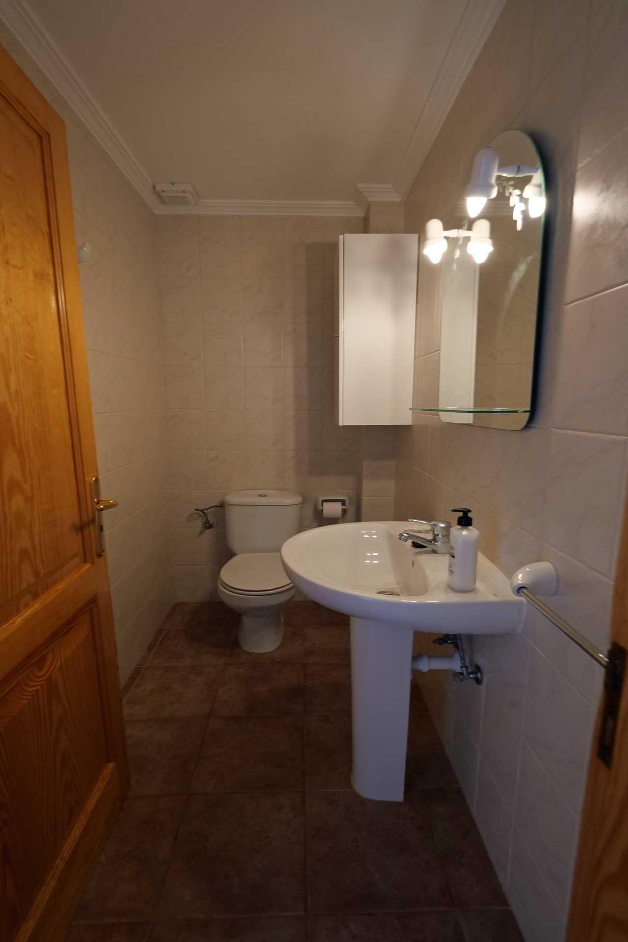 Finca Palmitos II - Guest toilet ground floor