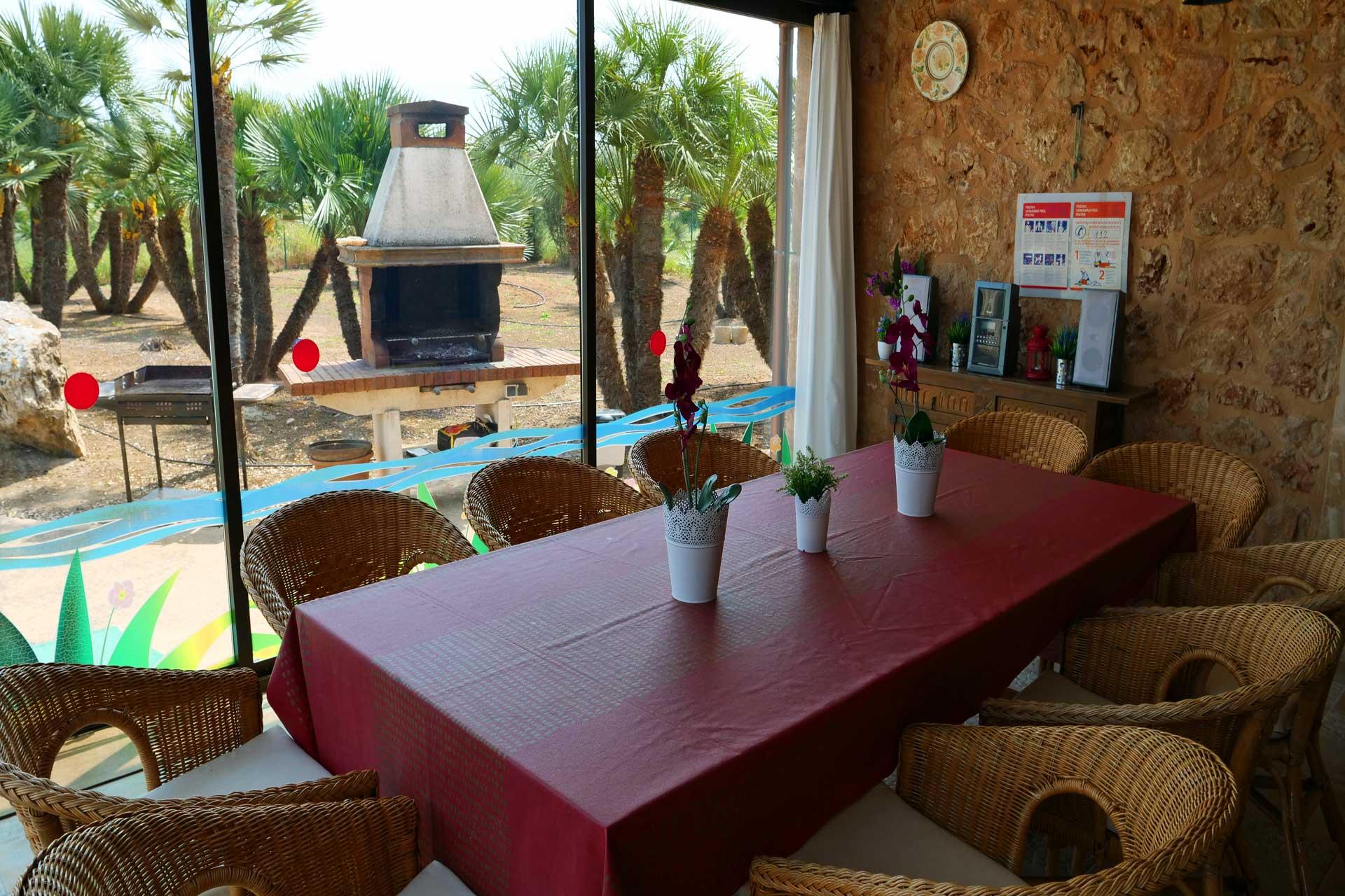 Finca Palmitos I -Wintergarden terrace