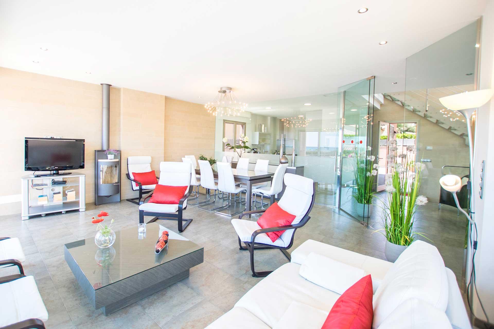 Villa Bohemi P. - Living area