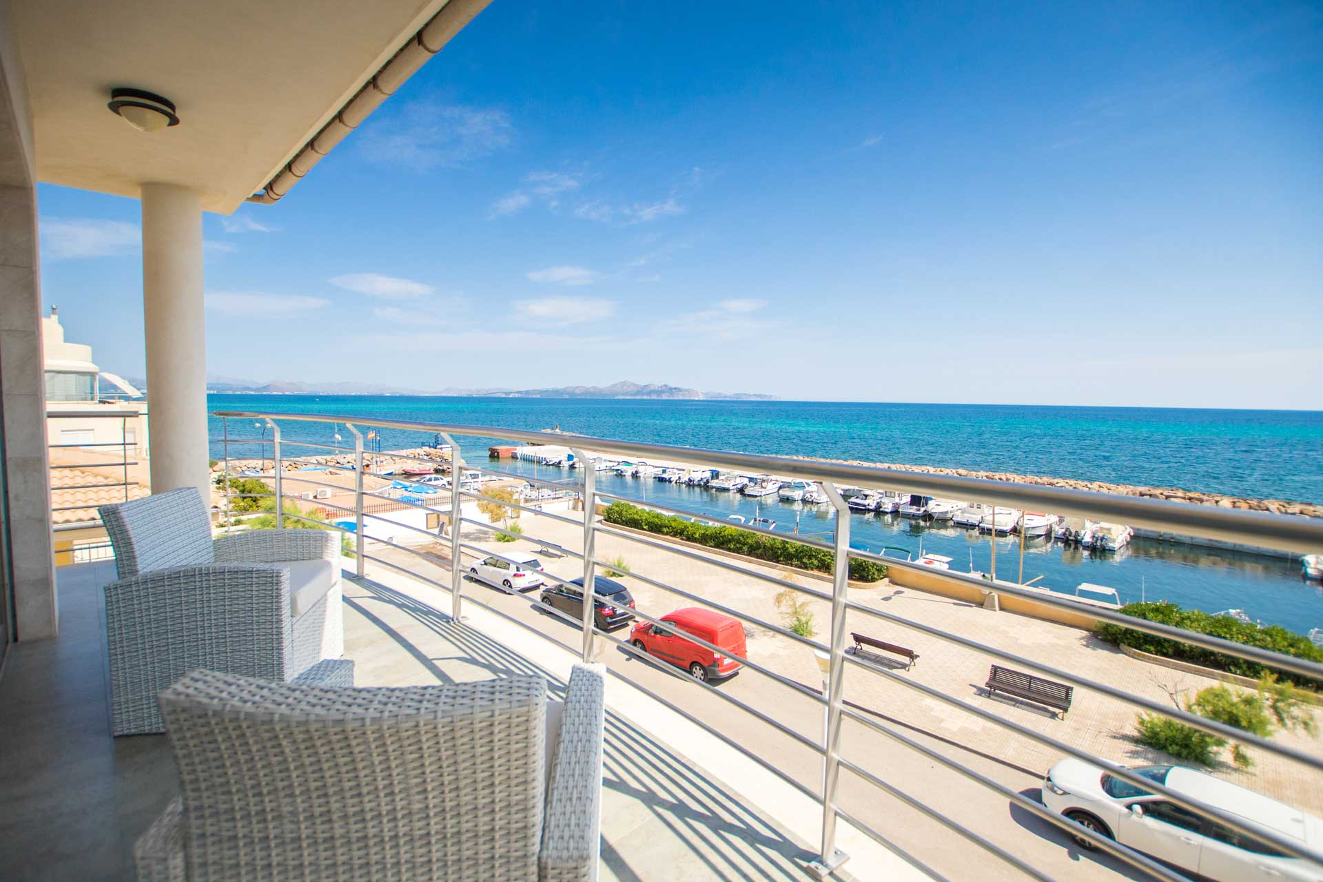 Villa Bohemi P. - Master Suite terrace