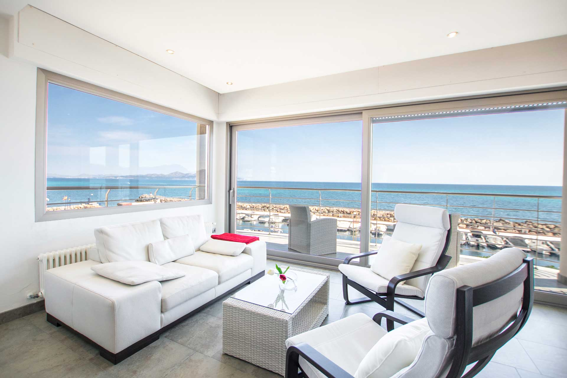 Villa Bohemi P. - Master Suite sitting area