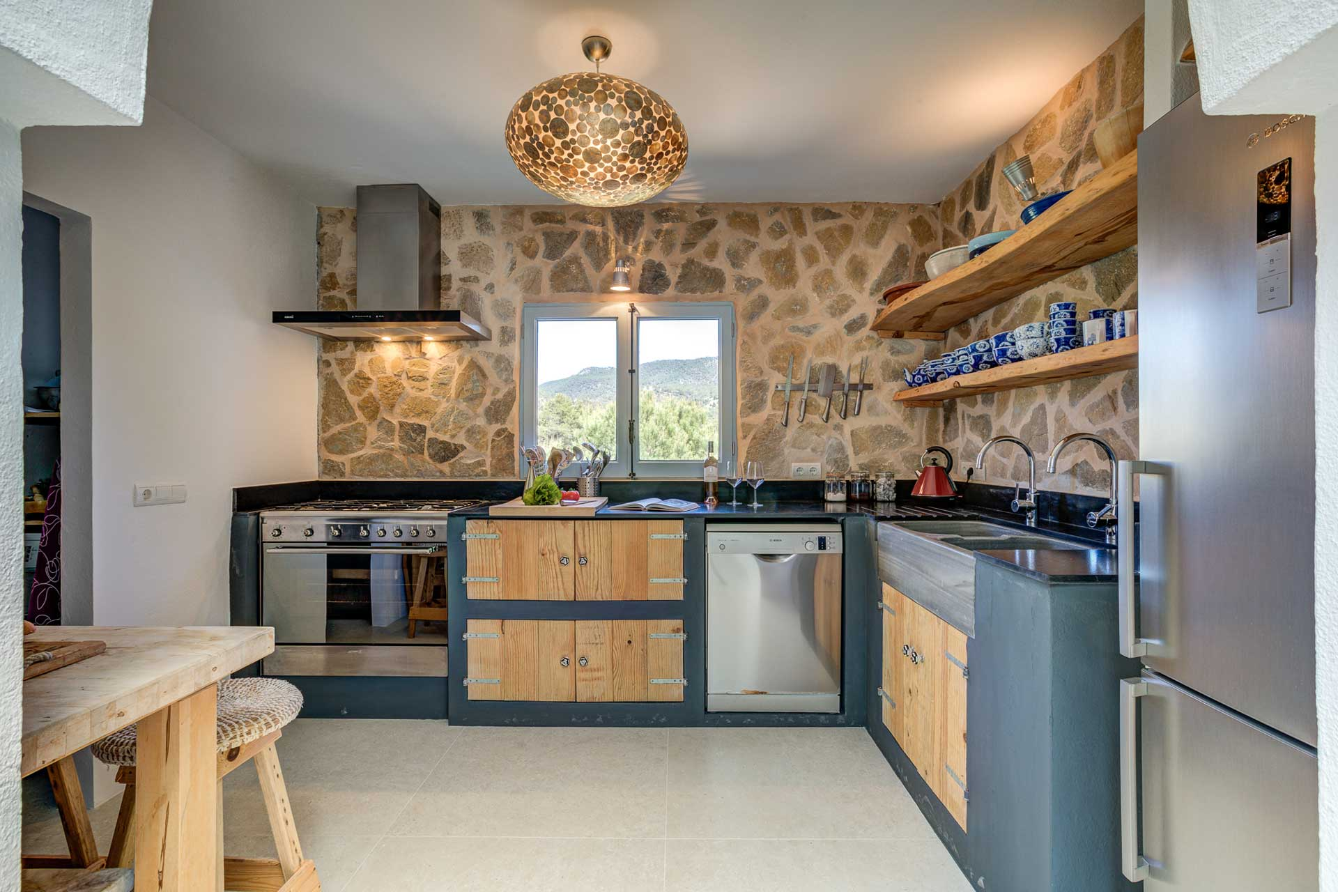 Villa Can Terra - Kitchen