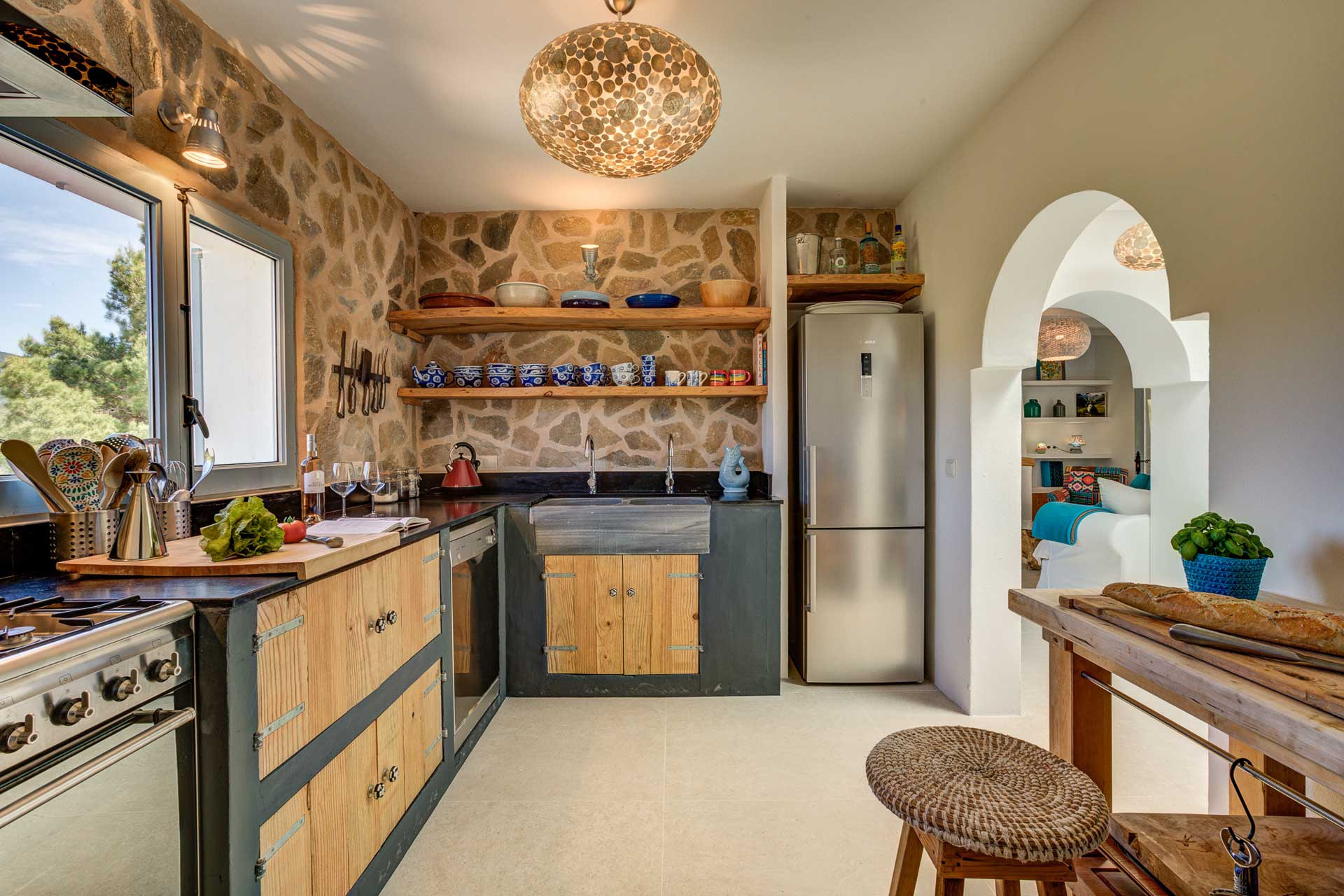 Villa Can Terra - Küche