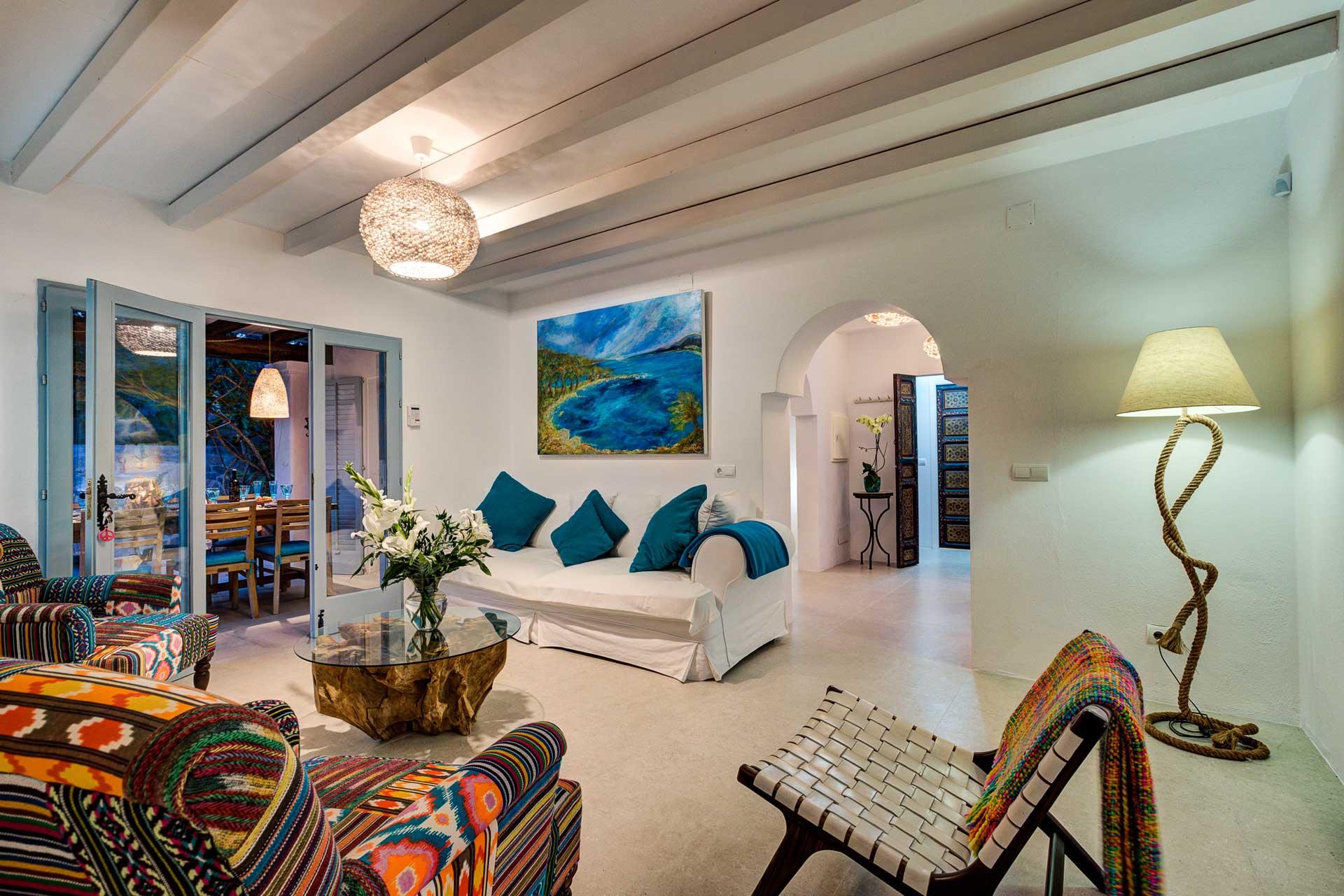 Villa Can Terra - Wohnbereich