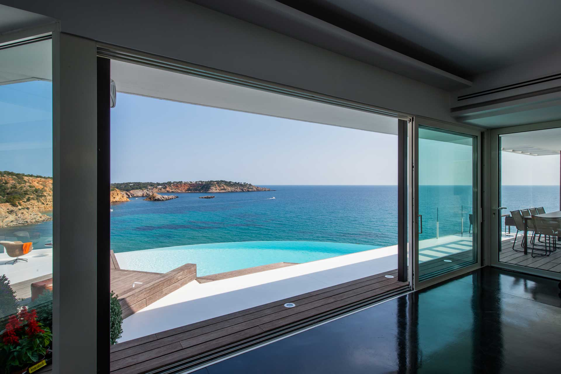 Villa Infinty Ibiza Vista Alegre - Wohnbereich