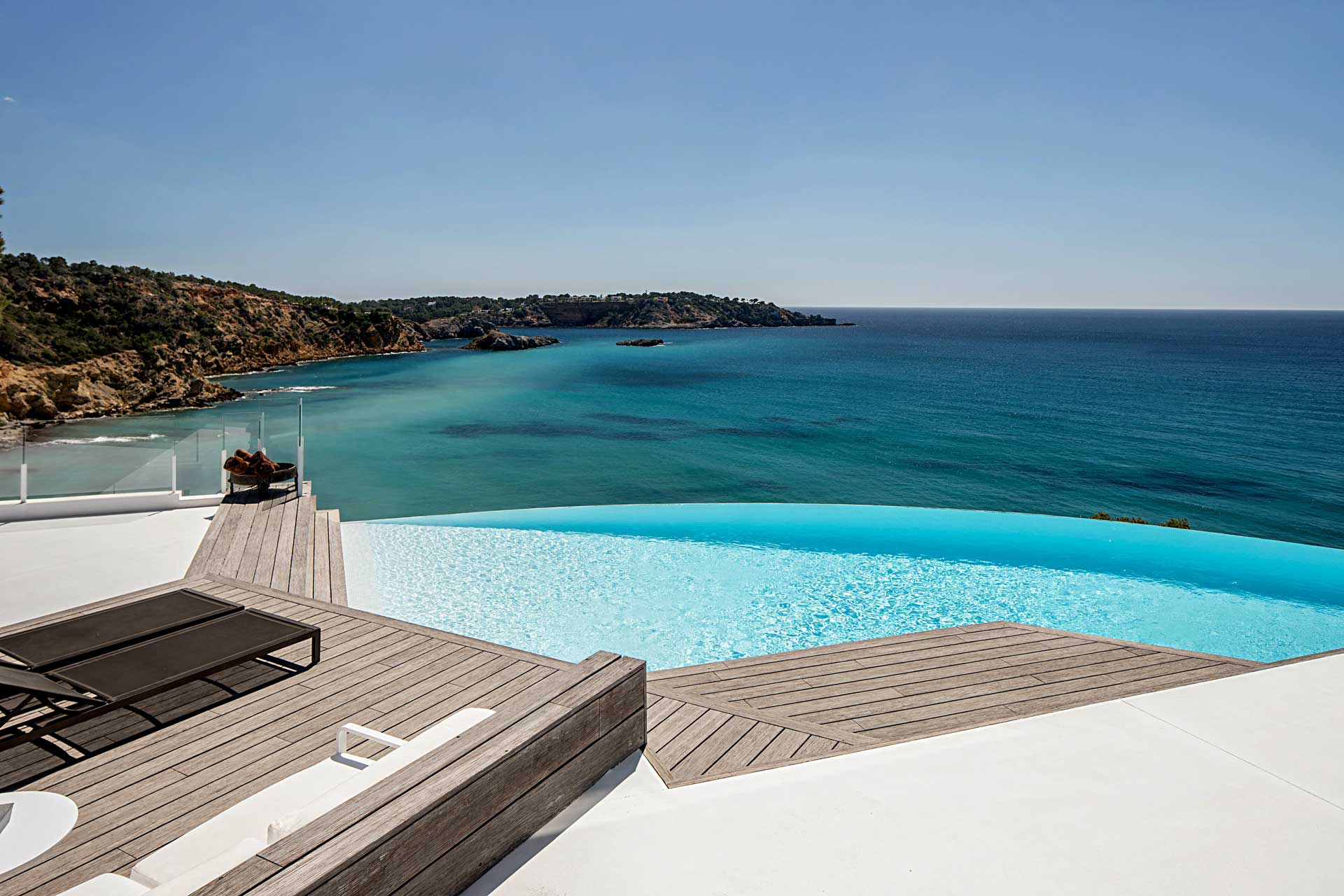 Villa Infinty Ibiza Vista Alegre - Swimming pool with sun terraces